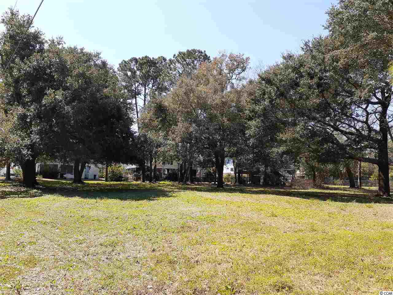 Don't miss out on beautiful sunrises and sweeping marsh views on one of the few remaining lots east of hwy. 17 in Pawleys Island, the Hammock Coast. Named in 2020 as one of SL premier beach towns of the southeast.  This oversized lot with historic Live oaks is close to everything including premier dining, schools, shopping, medical facilities and public access at Litchfield Beaches. Perfect for permanent, rental or vacation home, this quaint beach community has NO HOA and is a perfect place to build your dream home . Adjacent lot also available for sale. Myrtle Beach just 10 minutes up the coast and Charleston approx. 70 miles south.