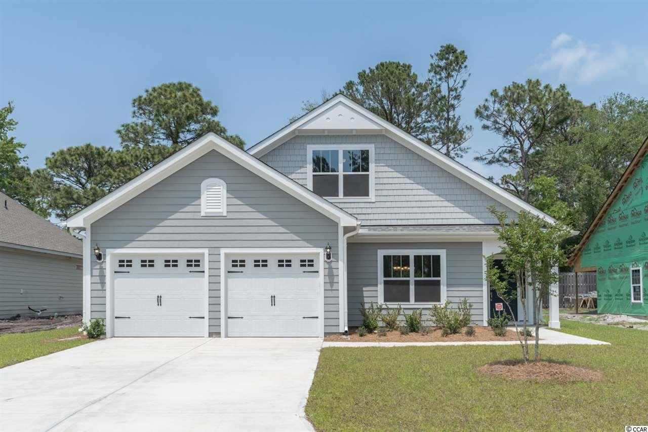 Take advantage of Pre-construction Pricing for a SHORT time!! ---TO BE BUILT--- Jensen plan-You choose the home site!  Enjoy life living near the beach, The Marsh Walk, Brookgreen Gardens and several golf courses in this well appointed, affordable home in Murrell's Inlet. Evans Park is so conveniently located within the International Club making it just a few minutes to 3 grocery stores, 5-10 minutes to oodles of restaurants, 10 minutes to Garden City beach and the Marsh Walk with tons of food and great music!!   The Jensen 2 story home is so open and airy! Walk into your 23' long family room with decorative painted beams across the ceiling! Add a corner fireplace for added ambiance. Under the wide arch enter your spacious kitchen.  Your expansive island with furniture like legs is terrific for cooking and entertaining! Walk out to your included 16' x 10' covered rear porch now opens up the outdoor living for you too!! Add the porch fireplace for extended use in the cooler months! Primary Suite on the main floor!! Ceramic tiled floor and dual vanities in your luxury bathroom! The Flex room can be an office, formal dining room or whatever you want it to be!! With the 2483 Heated sq ft, you'll have plenty of room to entertain in the large family room, spacious kitchen and dining area! Two bedrooms upstairs and a full bath plus loft in between would be a private area for family or guests! Extra storage under the staircase for all of that extra stuff we have.    Just some of the Jensen plan Included Features: Stainless Steel appliances, Staggered height cabinets with large crown molding, granite counter tops, Luxury Vinyl Plank flooring from front door to back door in main common spaces, comfort-height vanity with drawer stack in Primary baths, framed mirrors in all baths, double racked closet  in Primary closet, Radiant Barrier Roof Sheathing to keep out the heat of the sun's rays, a Lenox HVAC System designed and tested by independent 3rd Party, R-38 Attic Insulation,