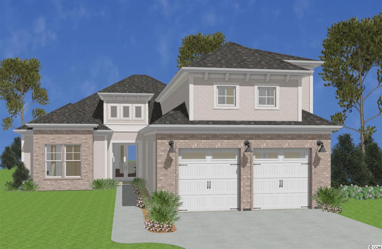 Here is your opportunity to own a custom quality constructed home in a gated waterway community located within Carolina Forest Schools.  Carolina Waterway Plantation has a walking path, pool, tennis court, community center, gazebo overlooking the ICW, boat storage, and a boat launch.  It's Myrtle Beach living at its best coupled with this well thought out floorplan.  Your future home boasts an open main floor with 3 bedrooms, 3 bathrooms, and a large covered lanai overlooking a pond and privacy trees.  Upstairs is a finished bed/bath suite and abundant storage.  This home will have nice finishes with today's styling including coffered ceilings and a recessed electric fireplace.  Your new home is a SMART HOME which includes home automation for the garage door openers, front porch light, HVAC thermostat, front door lock, and security system.  Ask to speak with the builder directly!
