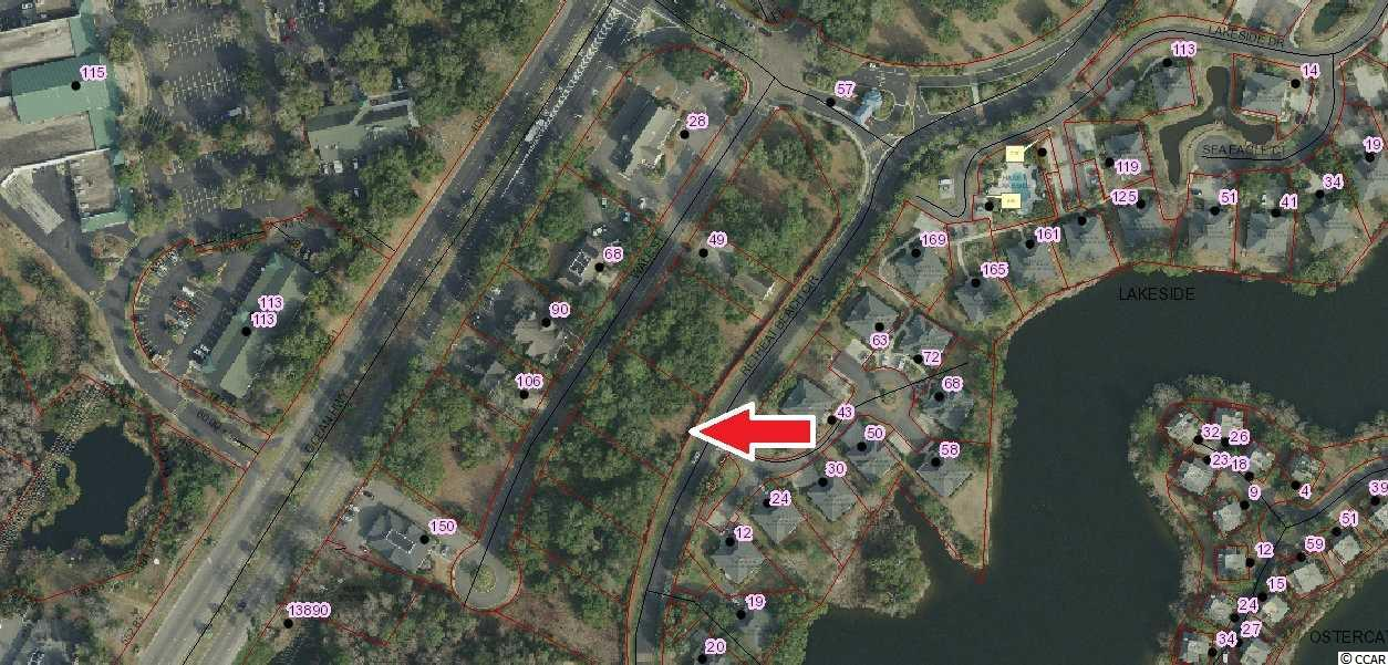 Excellent commercial lot located in very desirable Litchfield Beach at stoplight of hwy 17 and Willbrook Blvd. +/-0.41 Acres
