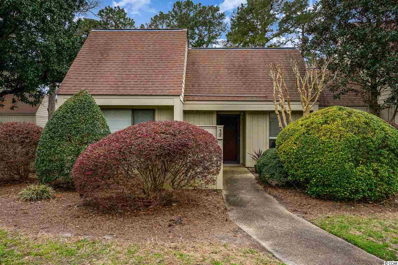 There isn't much better than golf course living .. unless its in beautiful Pawleys Island!  This end unit condo in an established community with amenities galore! If you're not playing 18 holes, you can make your way to the tennis court, the pool or the community center & enjoy your days there. If the beach is what you're looking for, its only a short drive away! This gem won't last long, call today to schedule a showing or for more information.