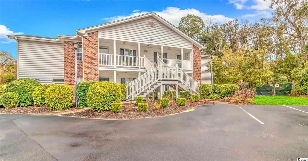 This is your chance to have the maintenance free, beach lifestyle you have been looking for! This incredibly maintained 3 bedroom, 2 full bath; 1ST FLOOR corner unit is located in the very sought after Egret Run neighborhood.  Tucked in the back of this community, the setting offers the perfect amount of peace and quiet that you are sure to appreciate.  Once inside the unit, be prepared to experience a sense of calmness. The well thought out layout is the perfect blend of comfort and functionality. The tastefully appointed kitchen is just the right size and and has everything needed for serving and entertaining. As you continue into the main living area, you cant help but take notice of the fireplace with its sleek tile design and distinguished mantle. This room is rounded out by large windows that overlook the secluded green space behind the home. Off the main living room, you will find yourself enjoying a spacious screened in porch, that is perfect for those coffee mornings and quiet evenings.  Back inside, there is plenty of room for you and guests. The Master bedroom offers a very sizeable layout with views to the undisturbed areas of the community.  The other 2 bedrooms offer tons of size as well and would fit perfectly for guest bedrooms, and office or exercise. room. Topping it all off, there is direct access to the bike path, walking distance to stores and restaurants, and minutes away from the pristine Pawleys Island Beaches! Ask your realtor about furnishings that go with the sale!
