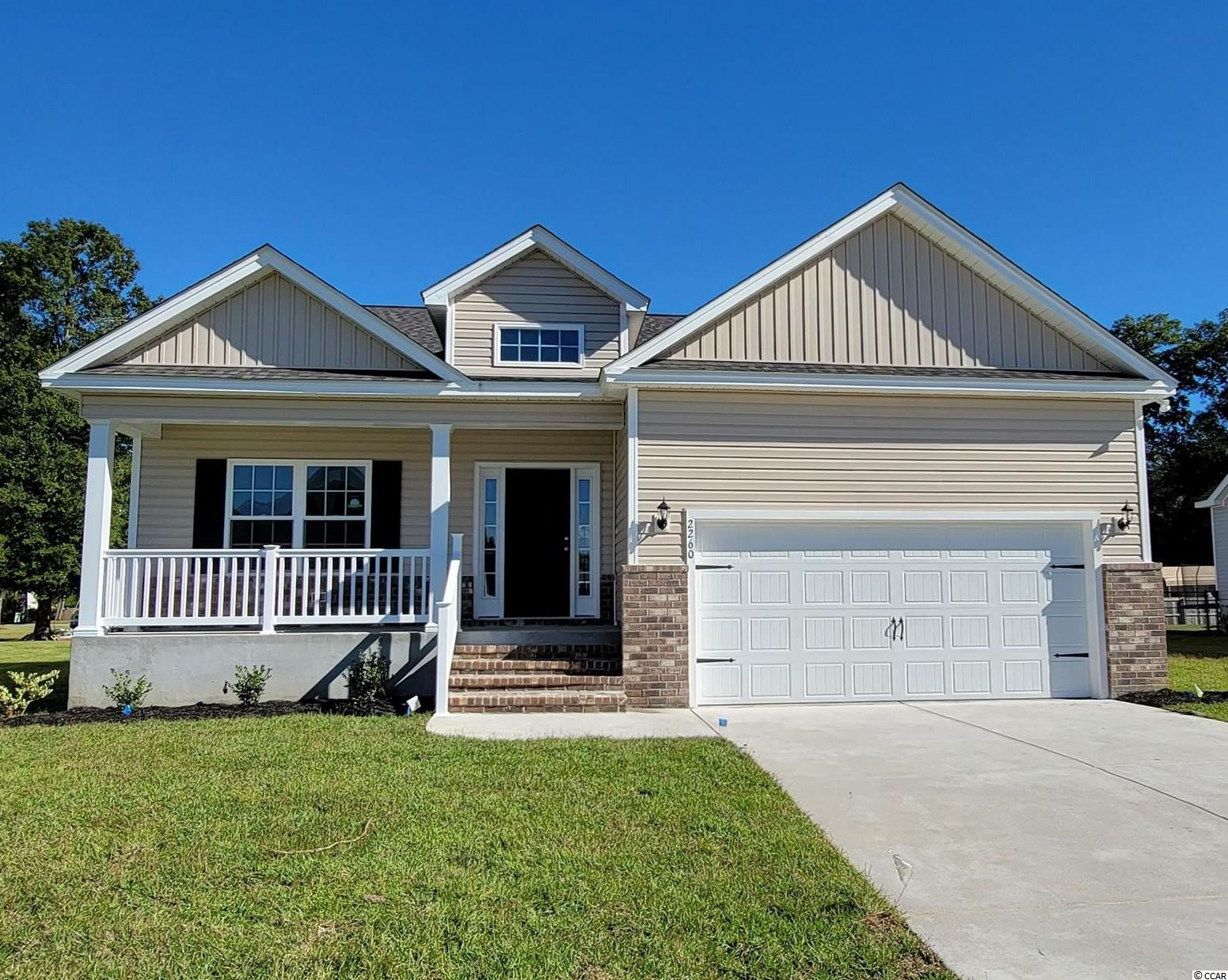 "This ""Busbee"" model has it all! Open concept home with a modern design on a spacious lot. This floor plan features lots of windows and 9ft. ceilings allowing natural light to flow in. The living and dining rooms are adjacent to the kitchen which makes entertaining effortless. This Kitchen includes granite countertops, Benton white painted cabinets, and stainless appliances. Come see all the insightful features designed with you and your lifestyle in mind including a split bedroom layout, beautiful yet durable  waterproof  Laminate flooring"