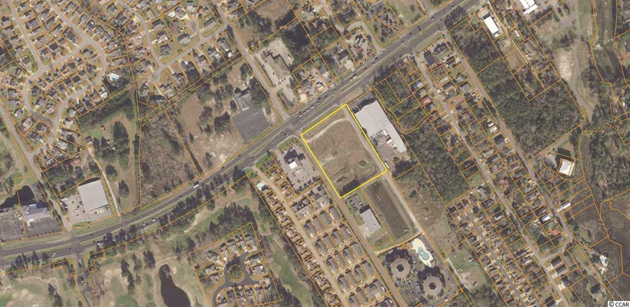 3.81 acres located on Hwy 17 Business in Little River with access off Baker and International Road. The property includes in-ground infrastructure and is ready for quick development. Strategically located east of 17 right in Little River Overlay District near the Intracoastal Waterway, Mariners Point Marina and multiple medical centers. 2019 Daily Traffic Count SCDOT (41,400).  Seller will owner finance for a qualified buyer.