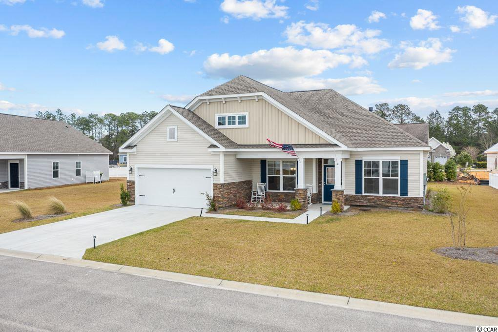 "Open House Wednesday, March 24th from 1-3PM and Friday, March 26th from 1-3PM. Fabulous better than new home in the highly sought after Hillsborough area.   Don't miss this rare opportunity to own a better than new, move in ready, 3-bedroom, 2 bath home, in the highly sought-after Hillsborough community. This beautiful home is not your standard builder grade home, this is the Great Southern Homes extremely popular Gardenia Model home and is loaded with extras and additional features. The front entrance has a new storm/screen door and a large front porch that welcomes you into this breathtaking home. This plan features a stainless-steel dream Chef's kitchen electric package, propane fireplace with Roseville mantle, custom built-ins on each side of the fireplace, luxury vinyl plank flooring throughout the main living areas, upgraded cabinets in kitchen and laundry, granite countertops with raised bar, new ceiling fans and more extras that distinguish this home from the crowd. This home is a ""green smart built"" and is equipped with many energy efficient items such as low-e windows, r-50 attic insulation, radiant barrier roof sheathing, thermal envelope air sealing, and many more energy efficient items. Relax and enjoy the comfort in your new home with the existing 10-year builder structural home warranty.  This home is conveniently located just down the street on Highway 90 from the new International Drive exit, just a short drive to downtown Conway, Highway 501, and Highway 31. It is located only a short drive to the beaches, shopping, restaurants, medical facilities, pharmacies, banks, grocery stores, banks, world-class entertainment, The River Walk and all that Myrtle Beach and the Grand Strand has to offer.  All information is deemed reliable but it is the responsibility of the buyer to verify."