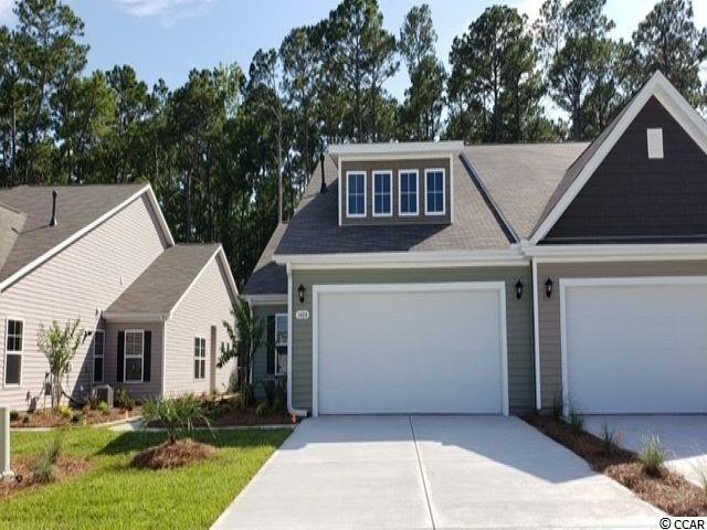 Heather Glen is a brand new natural gas community where homeowners will enjoy a large clubhouse with sprawling verandas, impressive swimming pool, conditioned fitness center, fenced dog park, playground area, and blueberry garden! This Tuscan floorplan offers a spacious, open layout all on a single level. With vaulted ceilings, tons of natural light throughout the living and dining areas, large kitchen island with breakfast bar, and spacious rear covered porch, this home is perfect for entertaining! The kitchen also features granite countertops, stainless Whirlpool appliances, white painted cabinetry, and a large pantry with ample storage. Roomy primary bedroom suite with walk-in closet and private bath with dual vanity and 5 ft. shower with glass door. This home also features laminate wood flooring in the main living areas, a tankless gas water heater, and our industry leading smart home technology package. Yard and exterior maintenance are all covered! 4' black aluminum fencing is permitted (per HOA approval).  *Photos are of a similar Tuscan home. (Home and community information, including pricing, included features, terms, availability and amenities, are subject to change prior to sale at any time without notice or obligation. Square footages are approximate. Pictures, photographs, colors, features, and sizes are for illustration purposes only and will vary from the homes as built. Equal housing opportunity builder.)