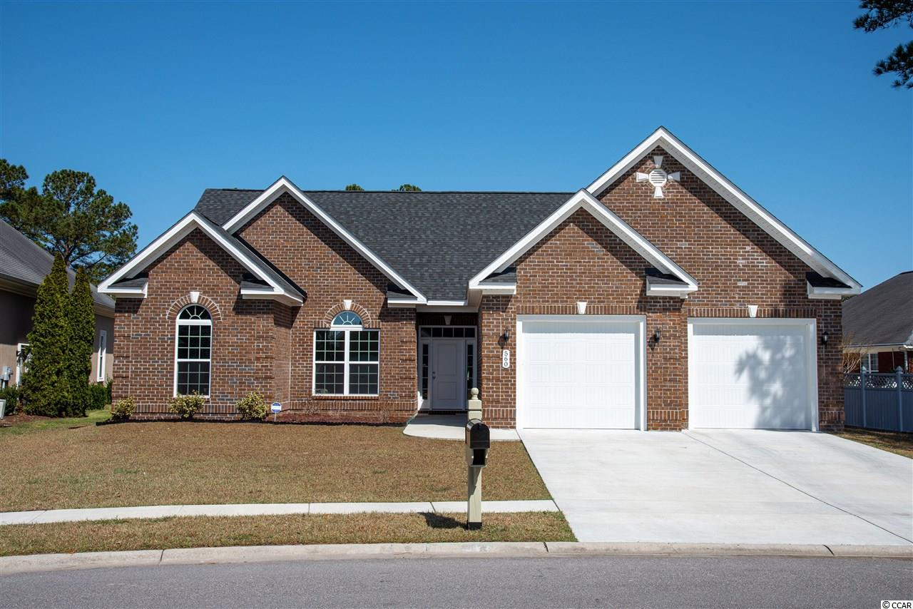 Home is built in 2020.  Located on a cul de sac with a water view outback of this one year old brick exterior home. Home features three bedrooms and two Bathrooms with a bonus room. Kitchen has granite counters and white cabinets.  Home has a propane connection for conversion to a gas stove.   Easy access to shopping, dining nd entertainment.