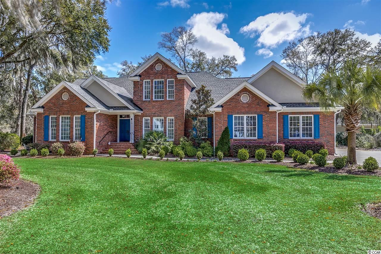 Beautiful all brick exterior home located on a cul-de-sac and nestled in a park-like setting under a canopy of mature live oak trees in the gated, exclusive community of Willbrook Plantation.  If space and functionality are what you are looking for, this nearly 5,000 heated square foot home has it, with extra-large rooms and a natural flow throughout.  This house is turn-key ready, having been extensively renovated and updated inside and out within the last 4 years, including the following:  A list of total renovations is available via a separate handout.  Key highlights include:  INTERIOR:  new paint in all rooms; new hardwood floors throughout the first floor; new crown molding, wainscoting, upgraded lighting, outlet covers and switch plate covers throughout; new carpet throughout the 2nd floor; new window treatments/plantation shutters throughout, new ORB door & window hardware throughout; BATHROOMS: new sinks, faucet hardware, granite counter tops, mirrors with frames, lighting, tile back splashes, comfort high toilets; MASTER BEDROOM BATH:  new oversized jetted tub with separate oversized seated tile shower; KITCHEN: new tile, granite counter tops, sink, faucet hardware, tile back splash, repainted cabinets, under-the-cabinet lighting; LAUNDRY ROOM:  new sink, faucet HW, cabinets, floor tile, paint; new/upgraded light fixtures/ceiling fans throughout.  EXTERIOR:  new roof with architectural grade shingles (50-year warranty); new oversized gutters and downspouts; newly painted front doors and window shutters; newly painted stucco trim; all new exterior lighting, new irrigation water filtration system; GARAGE:  new water heater, new whole house water filtration system, workshop, ceiling mounted storage racks; SUNROOM:  newly installed - adds >500 sq. ft. of year-round living area just off the kitchen and keeping room, includes new ceiling fans with light kits, sliding windows/doors with screens, and its own heating/air conditioning unit. While this house has a tr