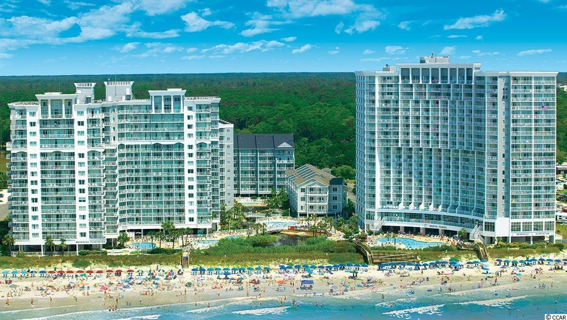 Beautiful one bedroom, ocean front, fully furnished condo at the SeaWatch Resort.  Tons on amenities and great potential investment or second home property.