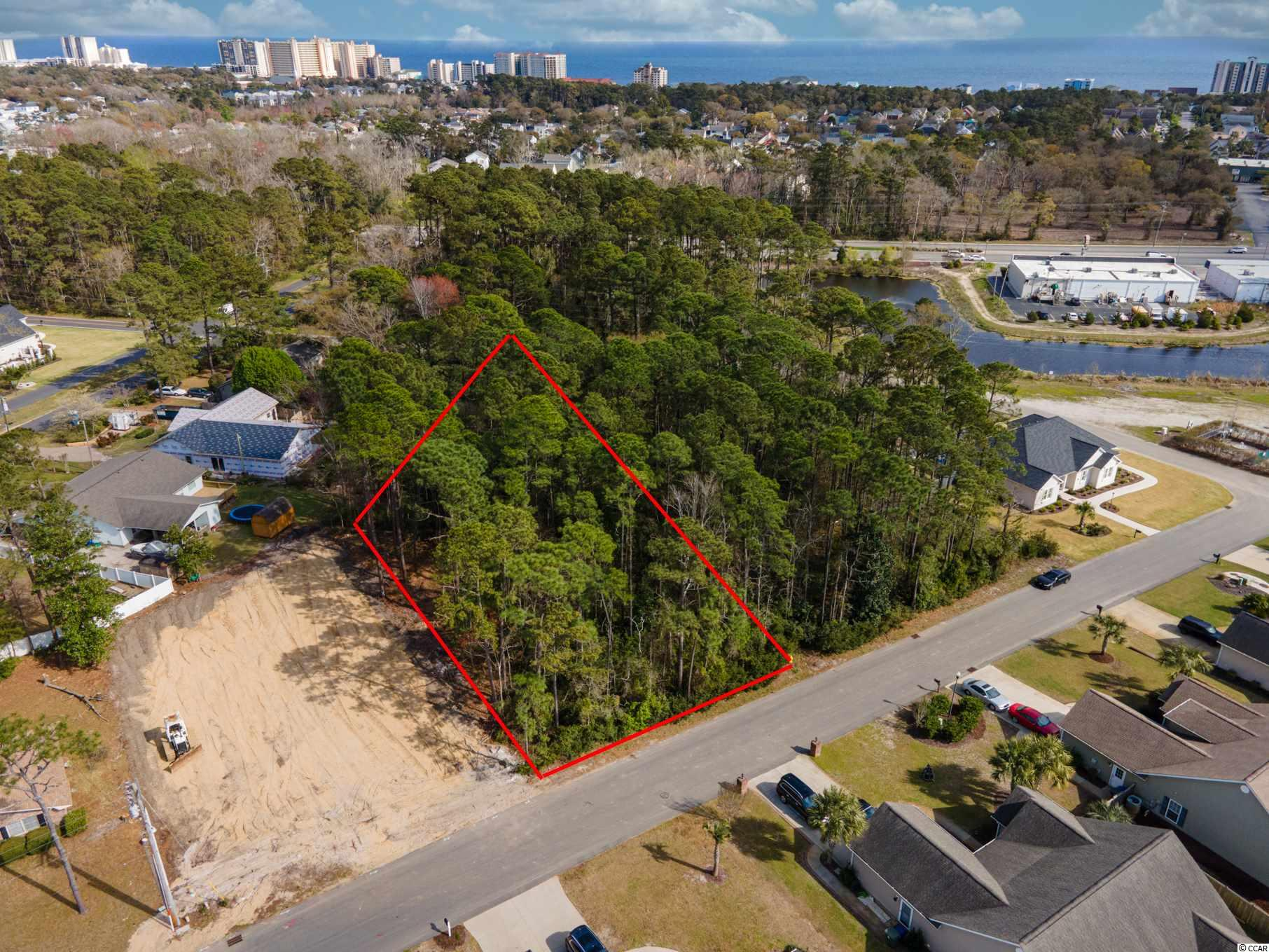 Wonderful OPPORTUNITY to own one of the LAST and LARGEST lots in the established community of Belle Park! This .38 acre site is the perfect place for your beach dream home! Bring your own custom builder and enjoy No time frame to build and NO HOA!! West of Hwy 17, but still GOLF CART DISTANCE to the BEACH and the Intracoastal Waterway! Central to everything that North Myrtle has to offer. Close to all the shopping, dining, festivals, hospitals, grocery, great schools, and multiple championship golf courses! Don't delay!
