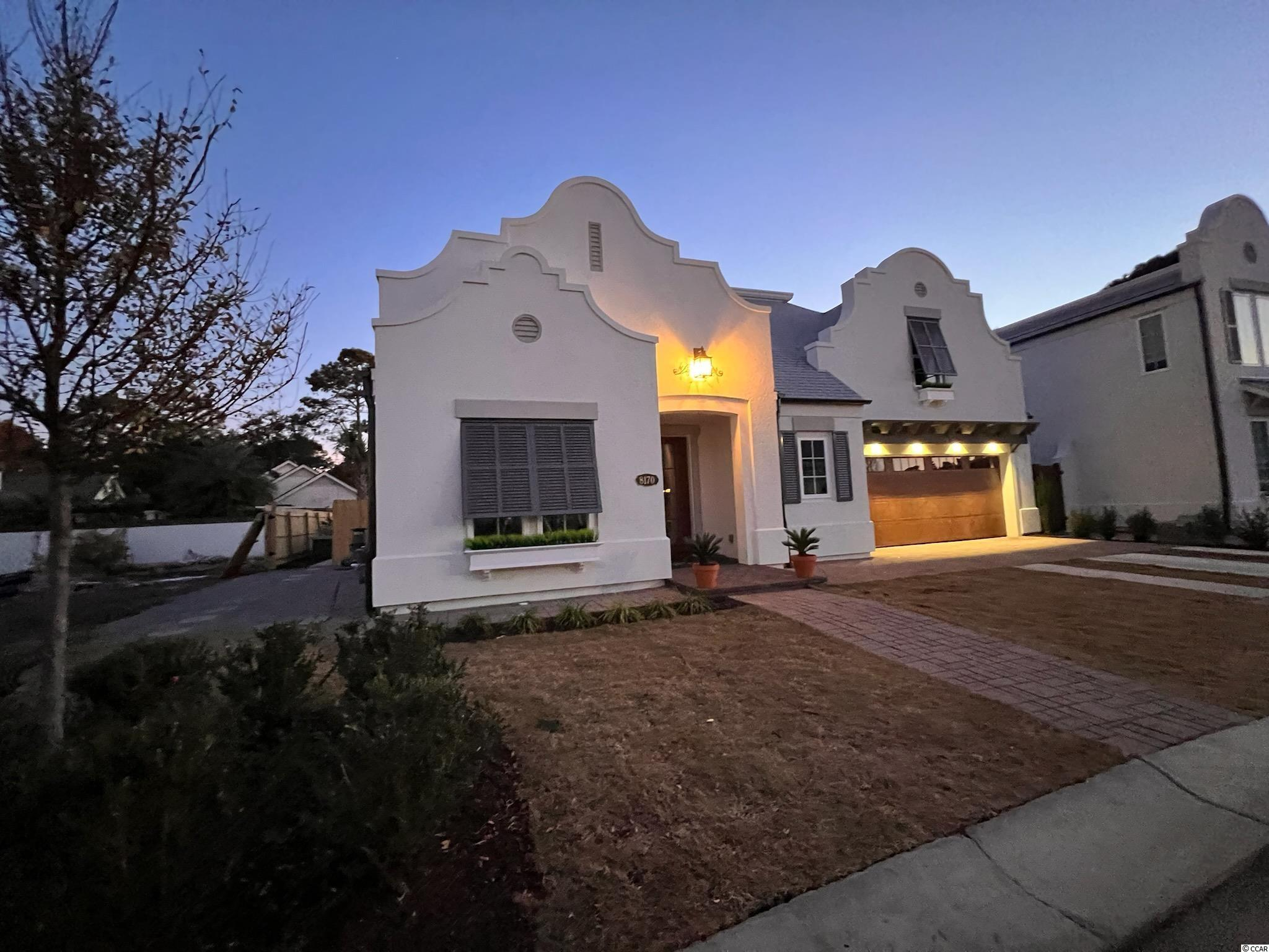 This gorgeous home CURRENTLY UNDER CONSTRUCTION is located in the exclusive neighborhood of 82 DUNES. It's the premier section of Myrtle Beach neighboring Grande Dunes, and is a short walk to the beach. Near by are some of the areas best restaurants, shopping and Medical facilities. This special Boutique Community has only 25 home-sites and offers natural gas. It features 4 bedrooms and 3.5 bathrooms plus a wonderful outdoor  area with pool to gather with family and friends where you might watch your favorite team win a big game and many custom upgrades. PLEASE NOTE THAT THE ASSOCIATED PICTURES WITH THIS LISTING ARE NOT NECESSARILY REPRESENTITIVE TO THE ACTUAL HOME AND ARE USED FOR MARKETING PURPOSES ONLY  The Master Suite includes a spacious bedroom area. The En Suite includes a large walk in custom closet, his and hers vanities, walk in shower. There is plenty of room for family and friends to visit with the three additional bedrooms. You could also consider converting one of the rooms to a home office. The Kitchen features quartz countertops, upgraded appliances, solid full overlay cabinets with soft close doors and drawers. There is a separate island for eating and entertaining and pantry. The back yard is completed with a beautiful 10'x17' salt water swimming pool and summer kitchen with a gas grill and fridge! 82 Dunes is the fastest selling boutique community in Myrtle Beach. Call Kevin Skelley today to set up your private showing. Don't miss this opportunity!  See Associated Docs for plans