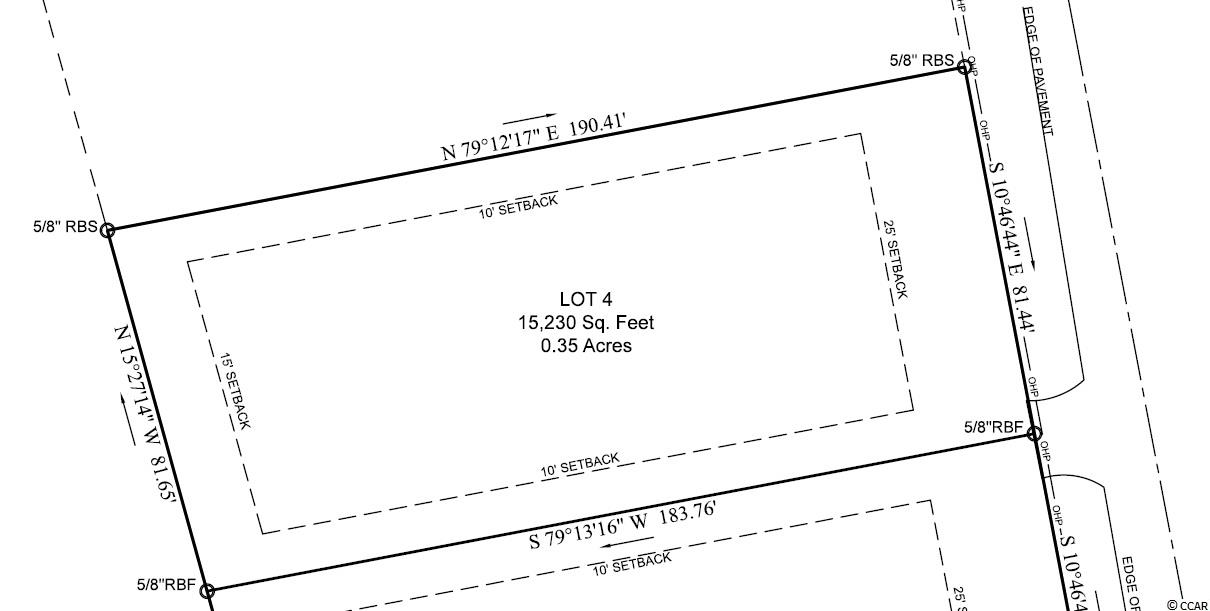 Great opportunity to get a cleared building lot in a great location, just minutes from Downtown Conway. Zoning allows Manufactured Homes or Stick Built Homes. NO HOA. Outside City Limits. Water & Sewer are available at the street through Grand Strand Water & Sewer.  Horry Electric Co-Op service at the street as well. Sign on Property, can be seen anytime. Seller is a licensed SC Broker