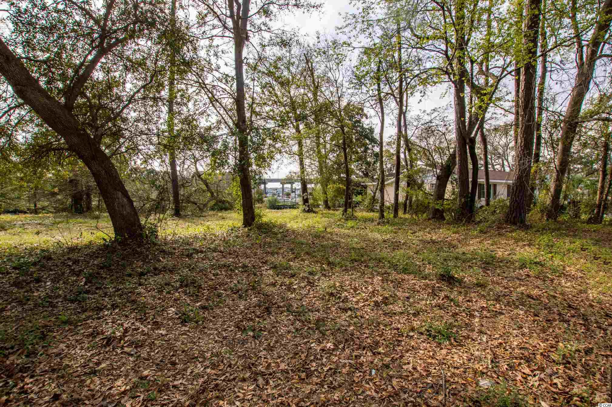Cherry Grove Lot, East of 17, Waterfront, in Palmetto Shores Neighborhood, Large Lot and deep lot! Has Bulkhead, on Tidal Channel to the intracoastal waterway on hightide.  Not many lots left like this.  NO HOA, Established Neighborhood, - Call for details.