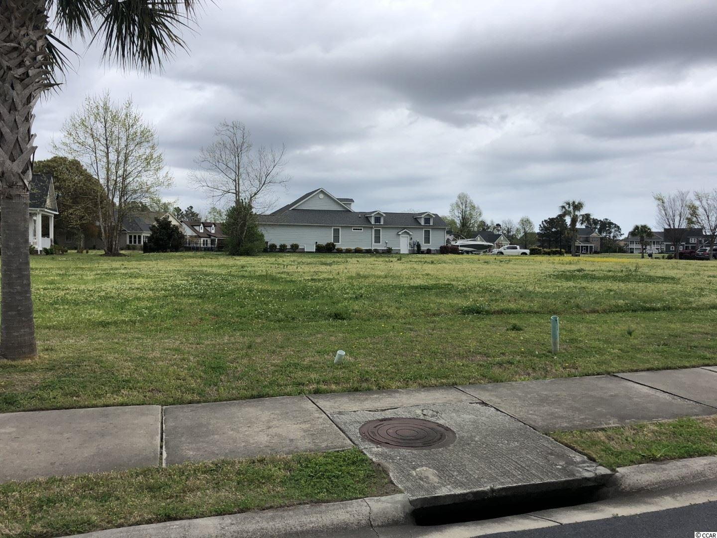 Rare square shaped lot in this section of Waterway Palms, cleared and allows for a larger single level or 2 level home. Convenient access to the community boat dock/waterway access and the entrance. Located in a highly sought after Intracoastal Waterway Community, this new community is in the heart of Carolina Forest, Myrtle Beach.