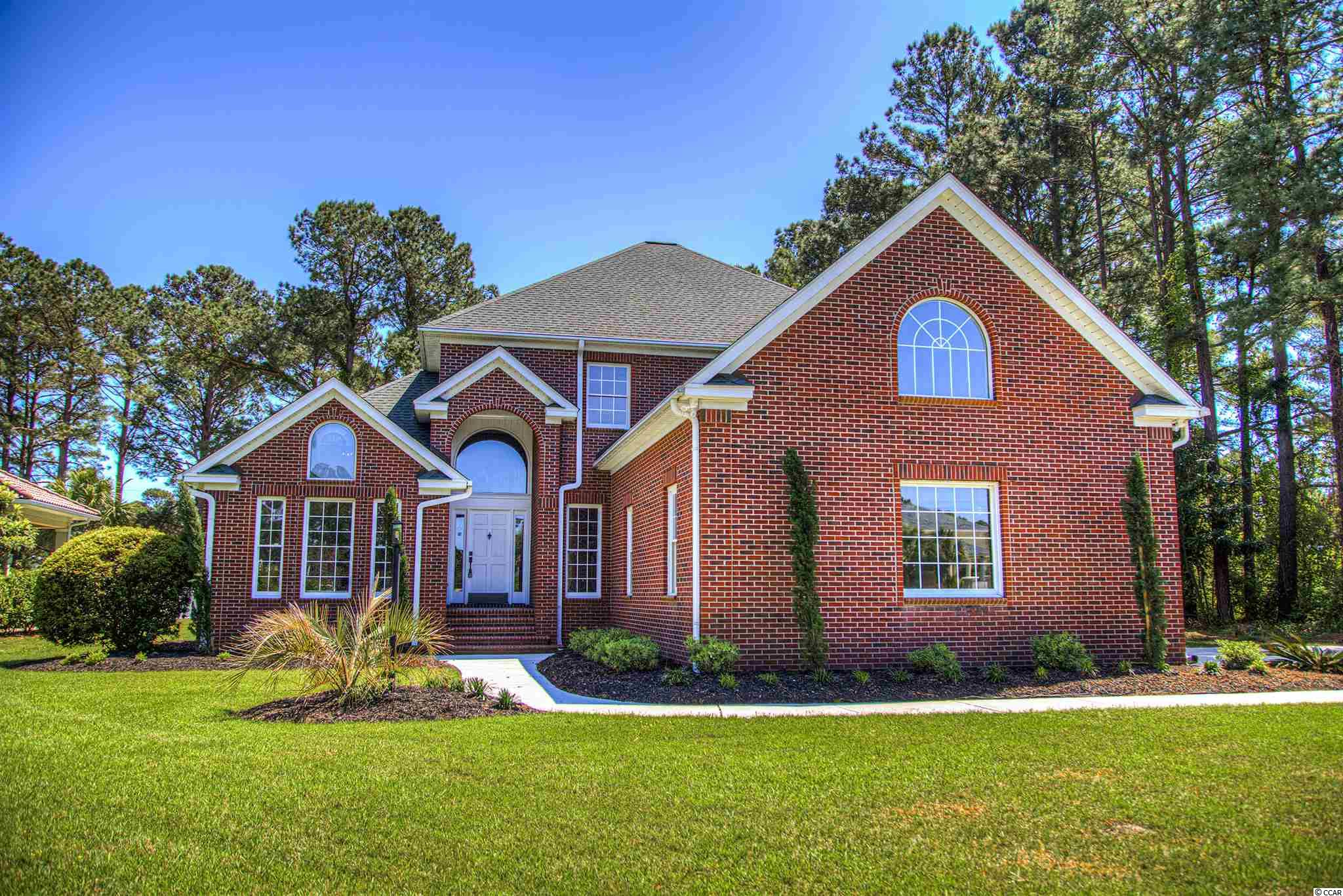 Beautiful Plantation Point Home. All brick, overlooking the golf course and has so much potential. Large 5 bedroom 3.5 bath with room to grow if you want. Side load garage give you all the parking you might need. Main floor offers formal living room with fireplace, formal dining room, office/den, great room, breakfast nook kitchen along with a huge master suite and large walk in closets and lovely well laid out master bath