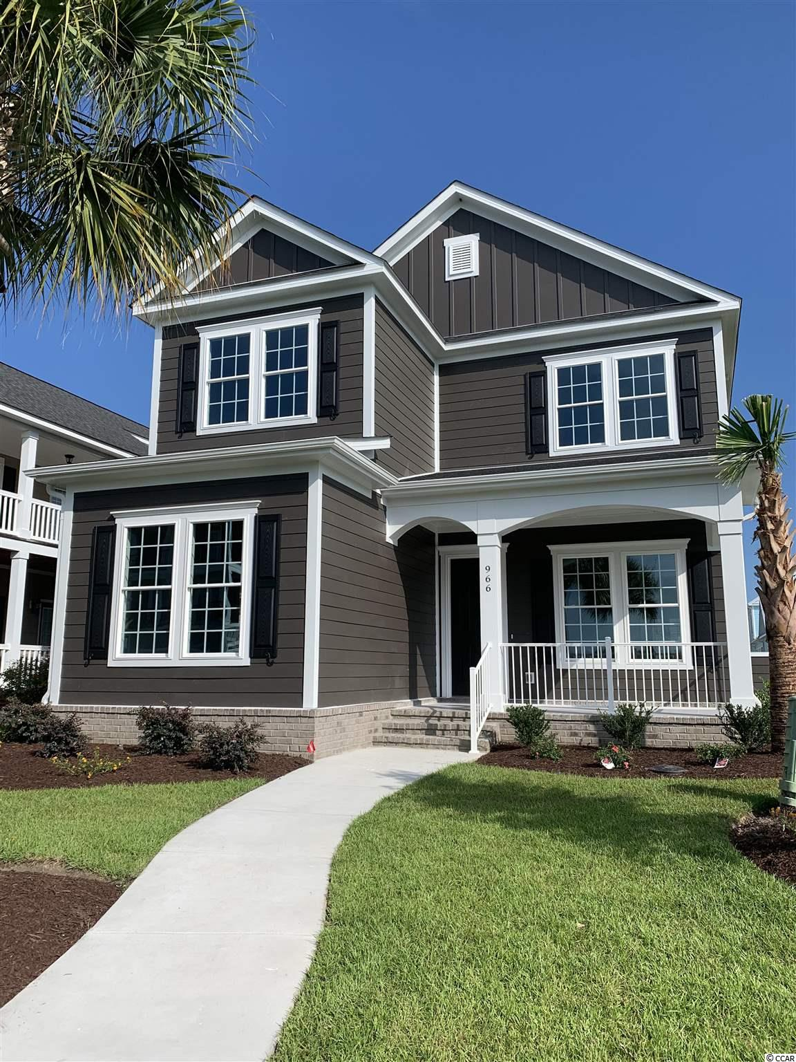 A beautiful custom built home located in the gated Waterway Palms Plantation Subdivision. The home is under construction and anticipated to be completed in a few months. The home will great you with so many beautiful features to mention, and not one thing was overlooked. As you enter the home you will be taken away by a beautiful custom trim moldings and custom paneling in the hallway and formal dining room. This gorgeous home offers an open concept floor plan: living room with coffered ceilings, electric fireplace, a dream kitchen with 42'soft close kitchen cabinets, Whirpool stainless steel appliances, granite counter tops in the kitchen tiled back splash, breakfast nook, walk in pantry, butlers pantry , crown moldings, 7' baseboards and Recess Lighting (LED energy efficient lights) rounded corners, tray ceilings in the master bedroom. You also will find a very generous size laundry room with a granite counter tops and cabinets. Master suite offers beautiful walk - in closet, and spectacular bathroom with a garden tub and a huge walk- in shower with frame less shower glass, soft close cabinets with double vanities with counter tops and linen closet. Second floor upstairs has split bedroom plan and Cozy loft area. Bedrooms upstairs has it's own en suite bathrooms with beautifully tiled showers and bathtubs. A three point drop has system was installed that stove can be converted into a gas, as well as fireplace and outdoor grill. A very well manicured landscaping with beautiful palm trees situated in the very front of the home, irrigation system. The home is located close to schools, Tanger Outlets, Mall, airport, beach and restaurants. Do not wait to call this home yours.