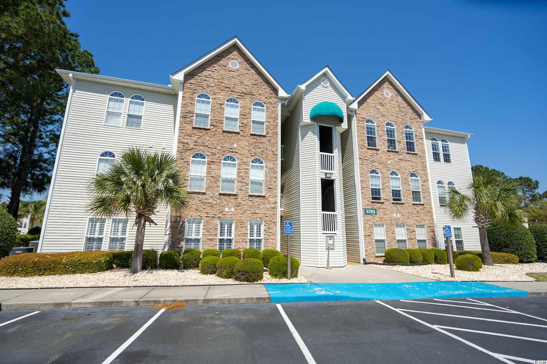 Located in the gated community of Savannah Shores, this 2BR/2BA condo won't last long.  This first floor unit features granite countertops, stainless steel appliances, a bright and cheery sunroom, a large storage closet and spacious bedrooms.  Community amenities include a pool, tennis courts, volleyball, a putting green and play area.  Golf carts are permitted.  Savannah Shores is conveniently located just minutes to the beach, shopping, groceries and restaurants.  Information is deemed reliable, but not guaranteed.  Buyer is responsible for verification.