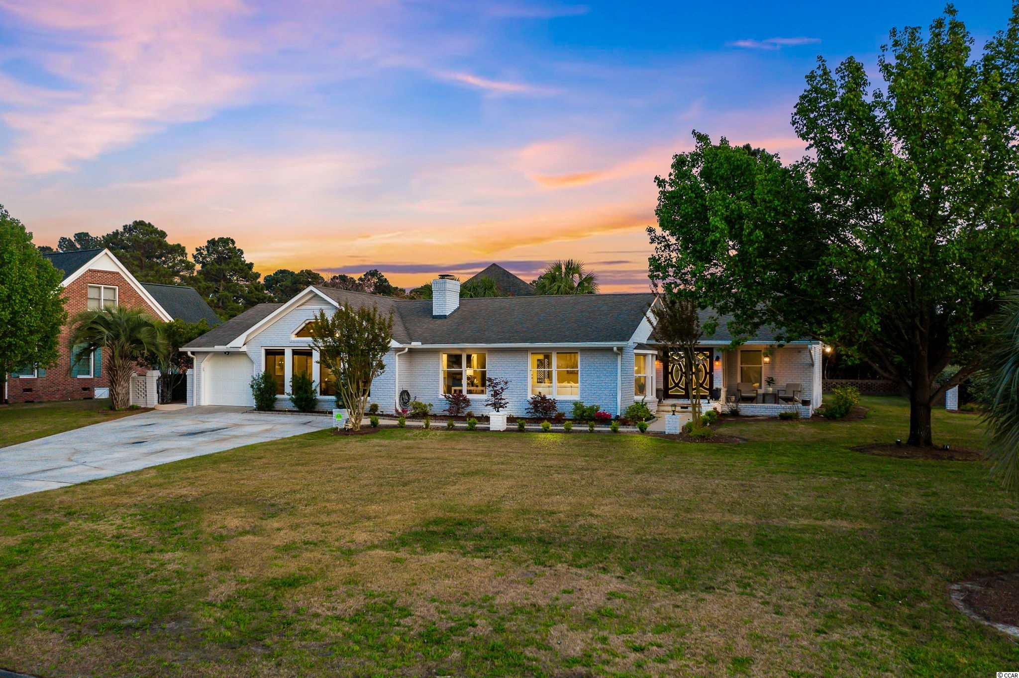 Welcome to this gorgeous ranch in the highly desirable neighborhood of Plantation Point. This home sits on an oversized corner lot, which includes an in-ground pool, outdoor shower, utility shed, gazebo, and a built in grill. As soon as you enter you are welcomed by the abundance of natural light throughout the entire home. This home feels like a model home with plenty of upgrades, including a poxy floor, tile walk in showers, oversized master custom walk in closet, and fresh paint throughout the entire home. Not a single detail was missed. This is a must see! Being fully renovated, having exceptional out door living and only minutes from the beach and restaurants this will make for a wonderful full time home or fun beach getaway. Schedule your showing now!