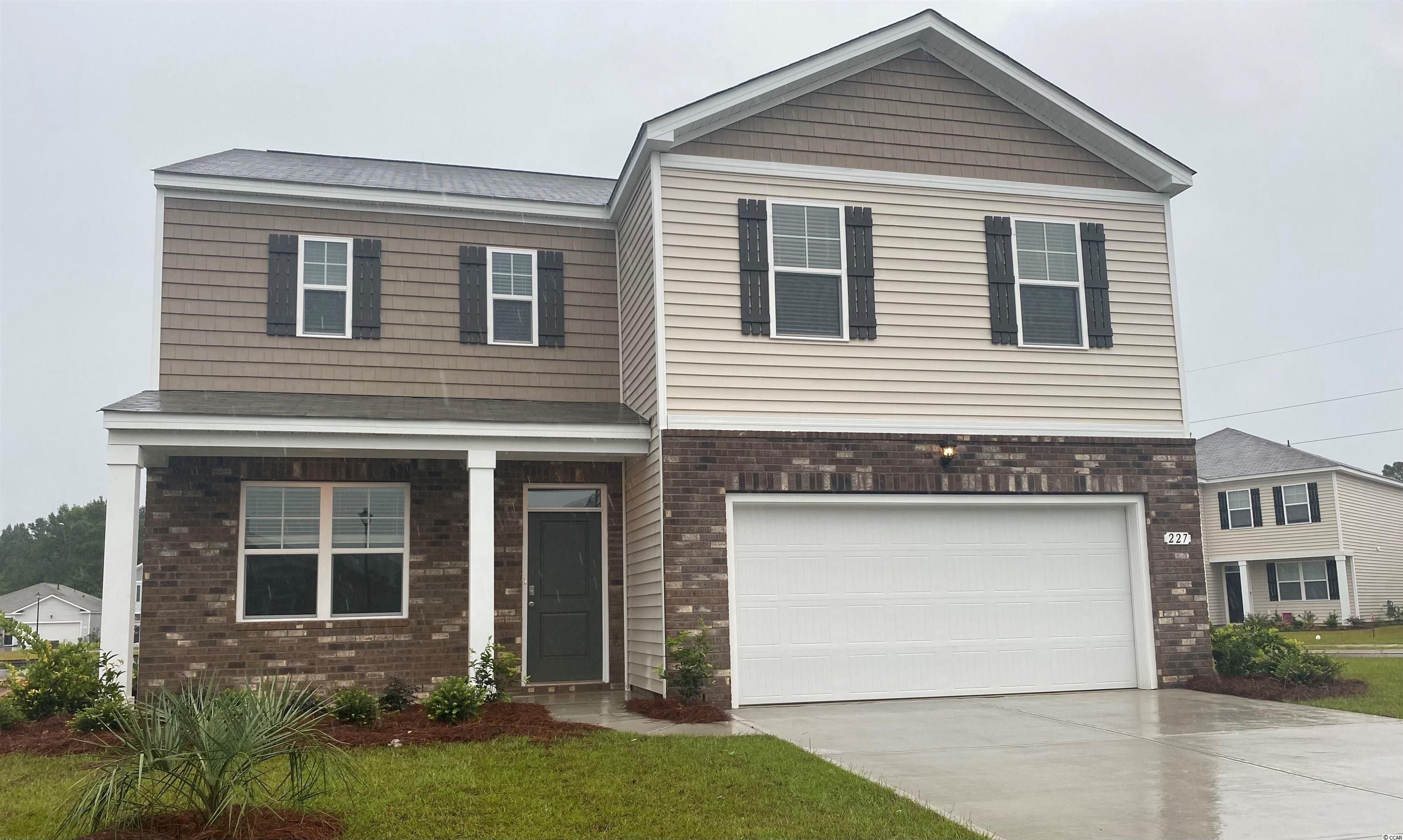 Oak Arbor is a brand new natural gas community conveniently located off of Highway 707 in Murrells Inlet close to shopping, schools, and the famous Murrells Inlet Marsh Walk. This spacious two-story home has everything you are looking for! With a large, open concept great room and kitchen you will have plenty of room to entertain. White painted cabinetry, granite countertops, large island with breakfast bar, stainless Whirlpool appliances, and a walk-in pantry. The first floor also features 9' ceilings and a great size study with French doors if you are looking for a home office space! Your primary bedroom suite awaits upstairs with huge walk-in closet and private bath with double vanity, 5 ft. shower, and linen closet. The laundry room is also conveniently located upstairs near all of the bedrooms! This home is on a corner homesite with pond views and will also feature an inviting front porch and rear covered porch. Tankless gas water heater, two-car garage with garage door opener, and our QuickTie framing system also included. It gets better- this is America's Smart Home! Ask an agent today about our industry leading smart home technology package that is included in each of our new homes.   *Photos are of a similar Galen home. (Home and community information, including pricing, included features, terms, availability and amenities, are subject to change prior to sale at any time without notice or obligation. Square footages are approximate. Pictures, photographs, colors, features, and sizes are for illustration purposes only and will vary from the homes as built. Equal housing opportunity builder.)