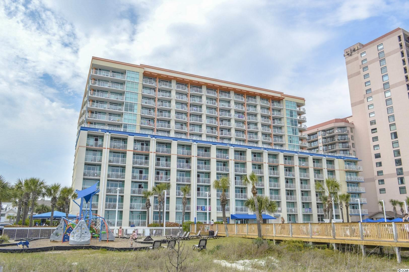 DIRECT OCEANFRONT 1 bedroom 1 bathroom unit in Dunes Village Resort. GREAT LOCATION on 53rd Avenue North & Ocean Boulevard close to major highway access, shopping, dining, golf, and everything downtown Myrtle Beach has to offer. Dunes Village features some of the best amenities on the oceanfront including indoor/outdoor pools, hot tubs, lazy rivers, pool slides, kids splash zone, fitness center,volleyball court, playground, serenity spa, and on-site dining at the Admirals Room, Captains Cafe, Perk's Up Coffee Shop, and their seasonal cabana tiki bar and pool side grill. Unit is located on the 8th floor and is up to current on-site rental standards. Strong rental history & priced to sell - schedule your private showing today!