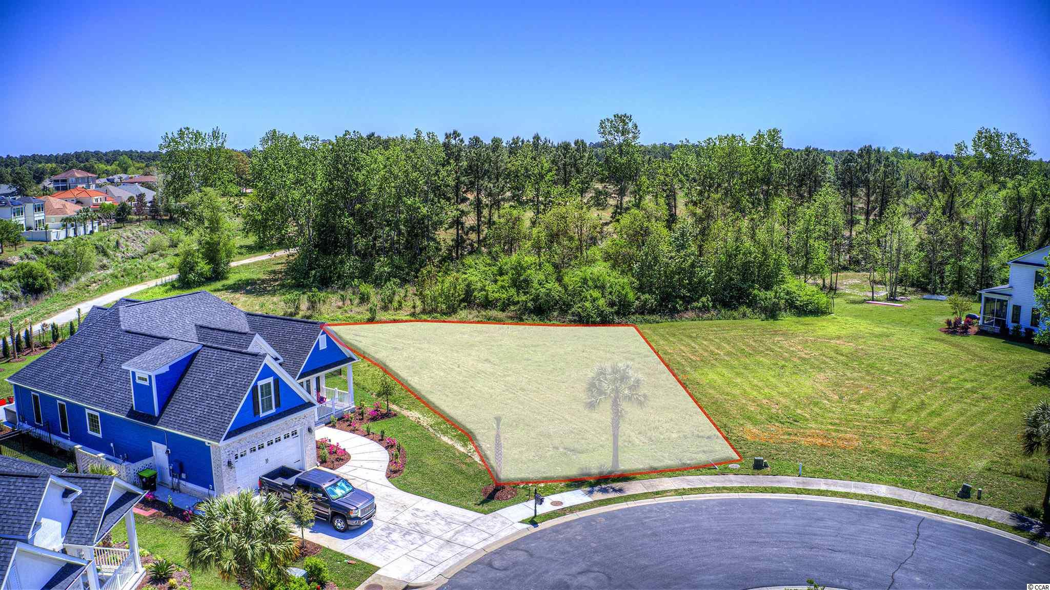 Phenomenal Lot Opportunity in this Gated Intracoastal Waterway Community! This home site is cleared and ready for your future dream home! Choose Your Own Builder - No Time Frame to Build. In addition to having their own community Boat Storage and Launch, residents can enjoy the Resort Style Pool, Two Story Clubhouse, Tennis Courts, and Playground situated on the communities Own Little Island conveniently located in the center of the community! Lining the streets are a variety of size and style homes. This lot is situated on a relaxed cul-de-sac and backs to the communities Tree Lined Sand Reserve. Just minutes to health care, restaurants, shopping, entertainment and only 5 miles to the BEACH! River Oaks Dr. is just around the corner from International Dr. and Hwy 31 which gives you amazingly quick access to Conway and surrounding areas of the Grand Strand! Come check it out today before its too late!