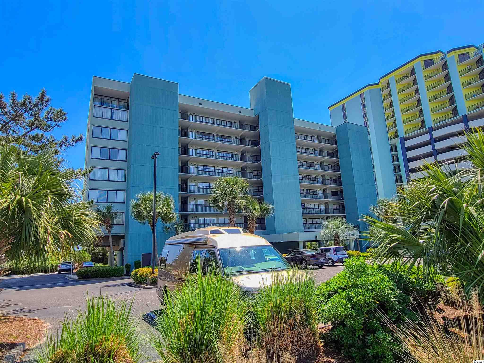 Beautiful views of the blue Atlantic and the coastline from this direct ocean front two bedroom, two bath condo.  Living room and master bedroom are both ocean front, offering relaxing views and sounds of the crashing waves.  Features include granite counters, stainless steel appliances, breakfast bar, tile and carpeting, washer and dryer in unit and lots of storage.  Spacious rooms offers plenty of room for everyone.  Watch the sunrise from the balcony while enjoying your morning coffee.  Just steps to the beach and Carolina Dunes offers indoor and outdoor pools and amenities for the entire family to enjoy.  Great location, just a short drive to dining, shopping, attractions, entertainment, golf, marinas, water sports, piers and everything else the Grand Strand has to offer.  Don't miss this opportunity to own your own piece of paradise!  All measurements and square footages are approximate and not guaranteed.  Buyers are responsible for verification of all information.