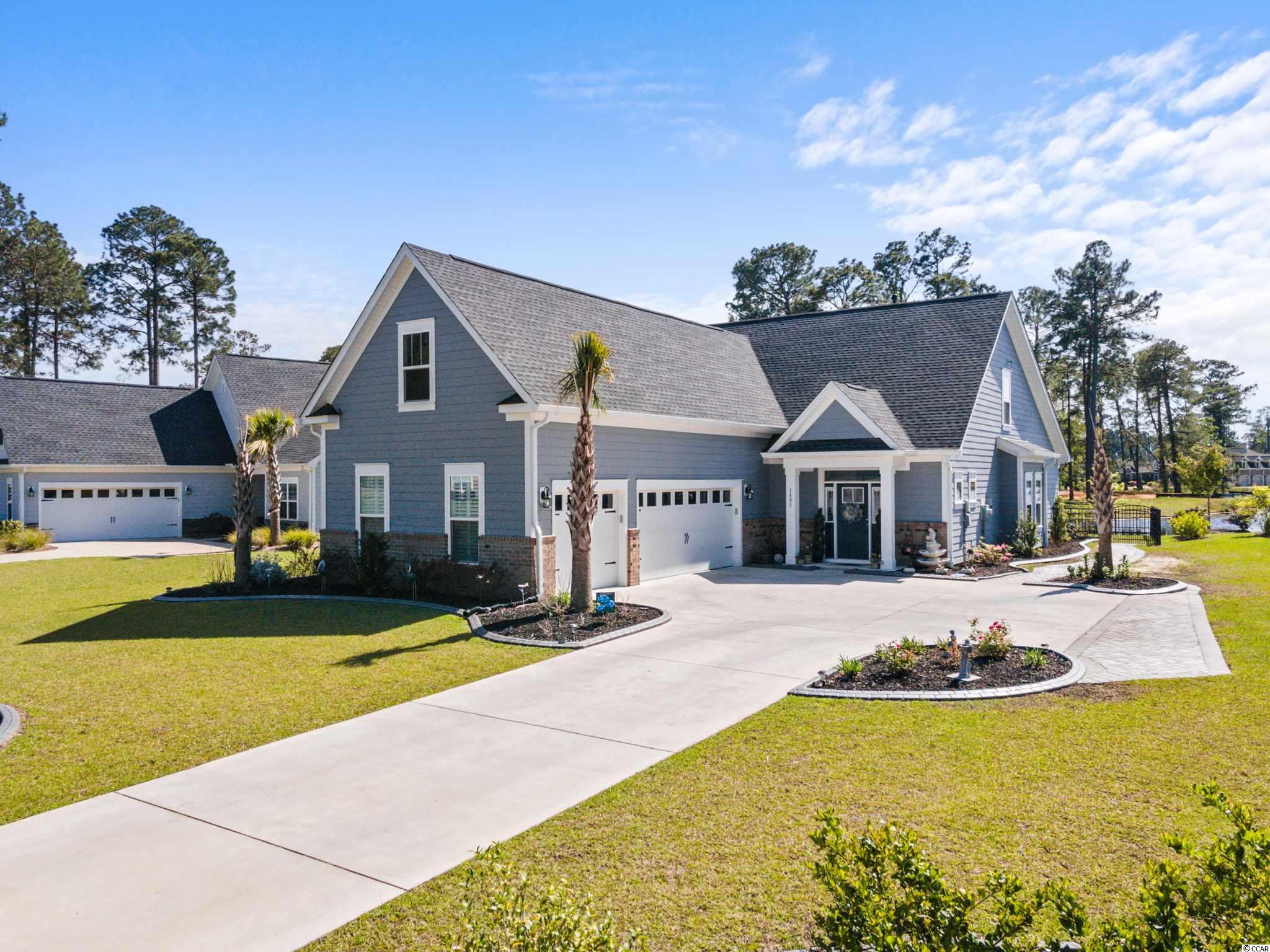 "Open House Saturday, April 24th from 11AM to 2PM  Don't miss this rare opportunity to own this better than new 5 bedroom, 2.5 bah home with an oversized 3 car garage on the large 180 acre lake in the highly sought-after luxury lake front community of Wild Wing Plantation.   This beautiful home is not your standard builder grade home, this is the extremely popular Aberdeen D Model and is loaded with extras and additional features that the homeowner has added. The stately front porch welcomes you into this breathtaking home. This home features a stainless-steel Chef's kitchen Natural gas package, upgraded cabinets in kitchen and laundry room, granite countertops with oversize island, luxury vinyl plank flooring throughout the main living areas, bonus room and in all the wet areas, upgraded carpet in the upstairs guest bedrooms and access to additional storage under the eaves of the home.   The homeowner has recently added and upgraded the home by the additional of the following; finished large bonus room/bedroom over the 3-car garage that added an additional 492 heated square feet to this already large spacious home, Contractor has been scheduled to modify the study to create an additional downstairs bedroom, custom made plantation shutters, added a custom ""doggie door"", rod iron fencing, ""curbscaping "" of the all beds that accent the professionally landscaped backyard. The homeowner added a custom paved driveway extension to allow for additional parking and ease of entry and exit from the oversize 3 car-garage, added custom garage shelving and workshop that offers unlimited possibilities for the homeowner.   This fabulous home features breathtaking views down the large 180 acre lake and offers unparalleled enjoyment of the many SC lake birds, including blue heron, egrets and even eagles. Wild Wing Plantation has over 180 acres of lakes for you to explore and enjoy.   You can even add your own private boat dock, use your boat to explore the lakes, fish and even take your boat to the clubhouse to also enjoy the many amenities there. The community features custom built brick and stucco style luxury homes. This home has the latest state of the art smart home features and is an energy star green home.   Association amenities included large clubhouse, multiple outdoor pools, hot tub, 80' waterslide, tennis/pickle ball courts, basketball court, new fenced in playground area, huge day dock, private boat ramp and owners private boat storage. Be sure to have your Realtor ask about the Wild Wing Golf Club membership promotion that the developer is offering!!! Wild Wing Plantation offers convenient easy access to Coastal Carolina University, shopping, the beaches and all that Myrtle Beach and Conway has to offer. Don't miss out on this rare find, have your Realtor schedule a showing today!!!  All measurements and square footage are approximate and not guaranteed. Buyer is responsible for verification."
