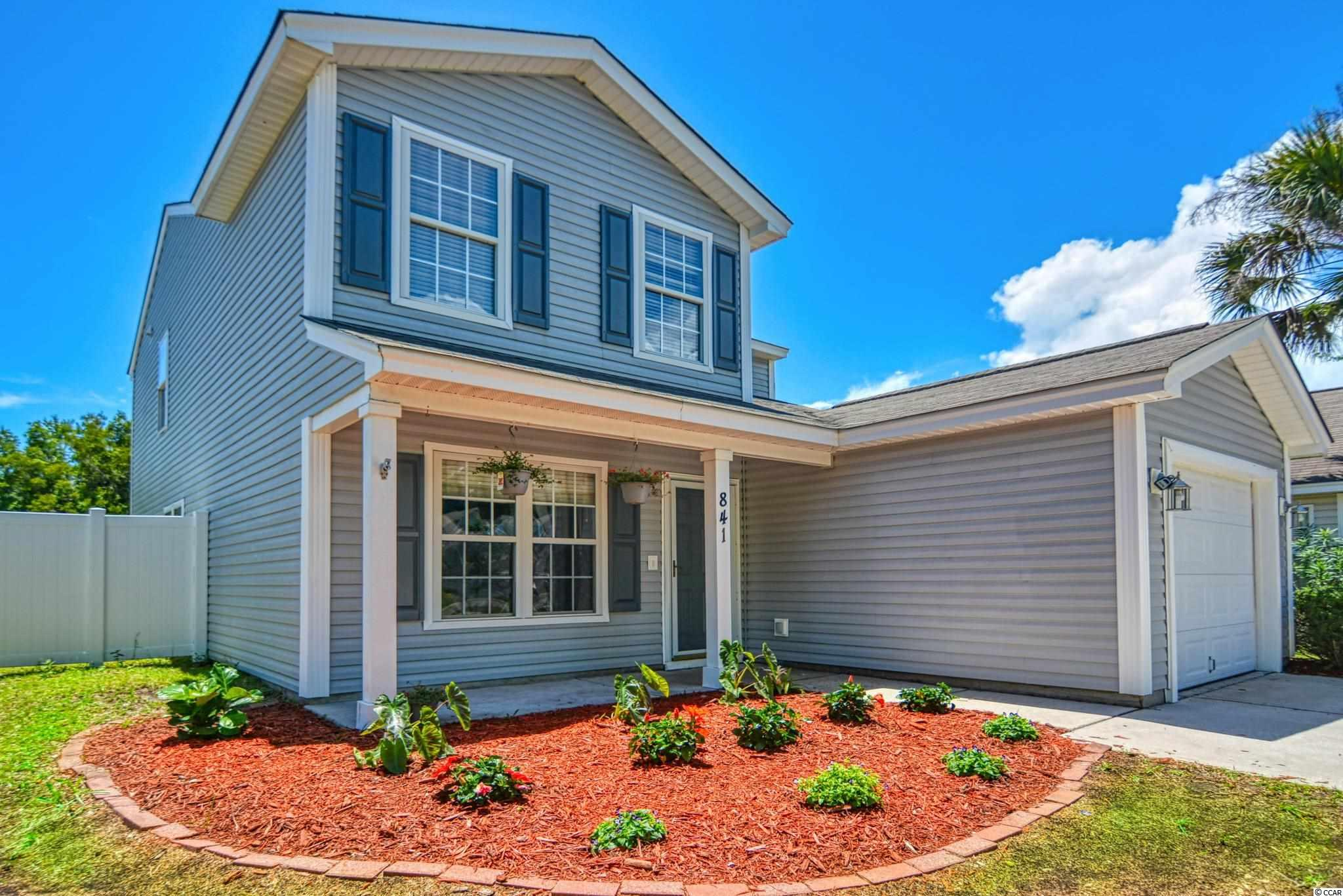 NEW FLOORING and PAINT throughout this MOVE-IN READY 4bed/3.5ba home in the quiet community of Avalon which is located in the award-winning Carolina Forest school district. Large open floorplan, very spacious backyard and lots of bedrooms makes this a perfect family home. Primary bedroom on the 1st floor with 3 others upstairs also allows for great multi-generational living. Plus, one of the upstairs bedrooms has a large nook off the closet which is the perfect study area, playroom, toy storage or gaming room. This neighborhood has tons to offer including: pool, playground, grilling/picnic area, volleyball, soccer and basketball courts. Avalon is located close to restaurants, shopping, the Myrtle Beach airport, golf and all the entertainment attractions the Grand Strand has to offer. Make your appointment today to see this beautiful home! Short drive to everything Myrtle Beach has to offer including Coastal Grande Mall, 2-Tanger Outlets, public marinas, public docks, landings, restaurants, golf courses, shops, entertainment, Myrtle Beach International Airport, Broadway At The Beach, The Market Common, Barefoot Resort and Coastal Carolina University (CCU). Also, only 90 miles to beautiful Charleston, SC!