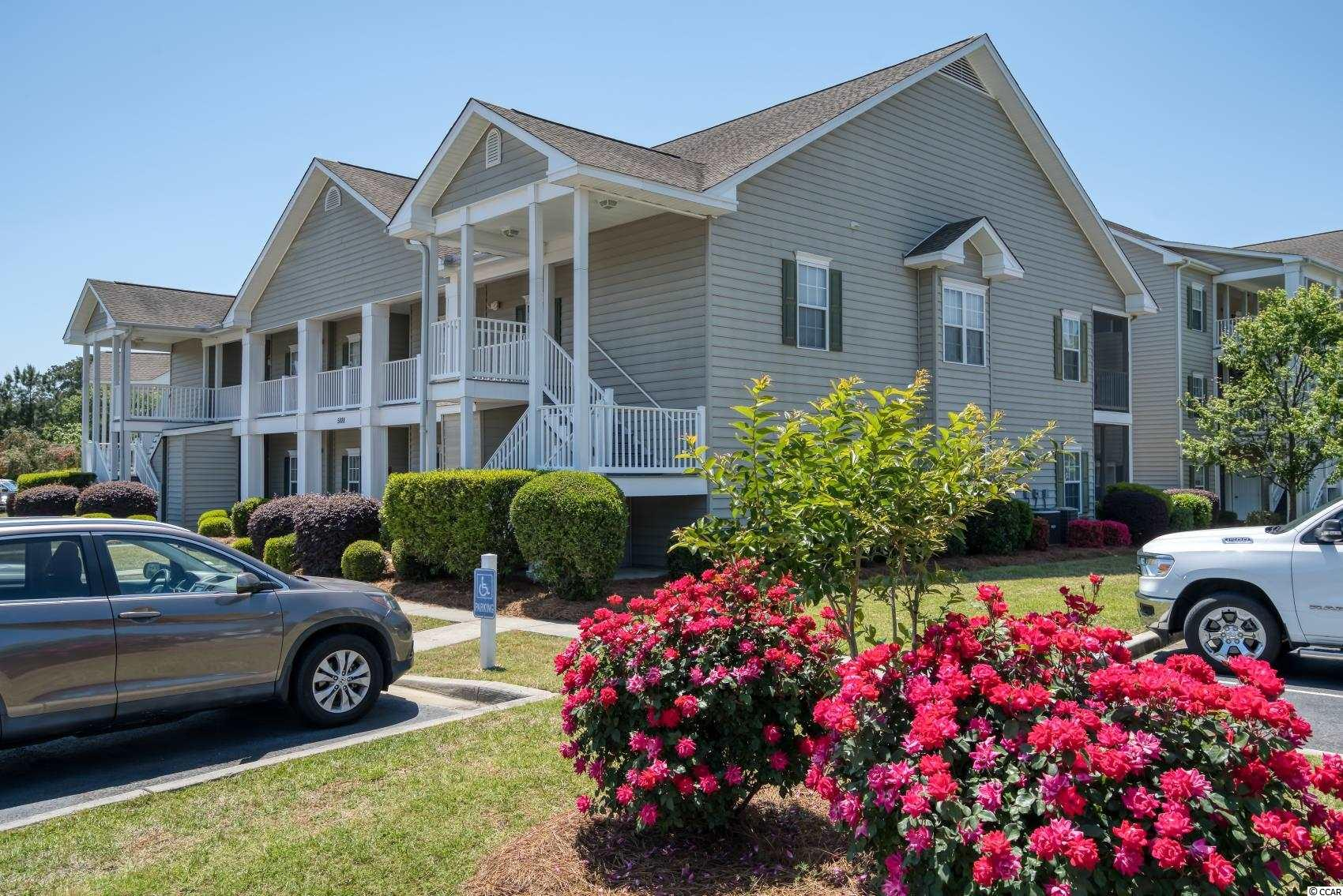 1ST FLOOR UNIT, beautiful condo in the Blackmoor Golf Community. This is a 3 bed/2 bath condo that has been well maintained since 2004 by the original owner. This end unit has plenty of windows to let that bright South Carolina sunshine in! Large master suite with his/her closets and a double vanity. This unit features an AC unit, water heater, appliances and laminate flooring in the living area that are all less than 4 years old! Condo ownership comes with pool & clubhouse access right across the street and a grilling area for residents. It is conveniently located near all that Murrells Inlet and the South Carolina Coast has to offer. Blackmoor is an extremely beautiful community with numerous ponds, trees and abundant wildlife! This is the friendly, close knit community you are looking for!