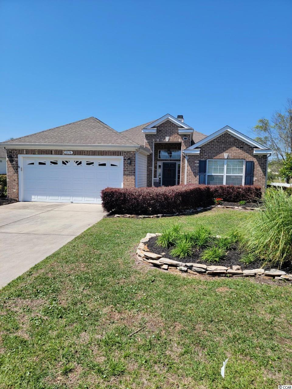 OPEN HOUSE FRIDAY 4/30/21 1:00-5:00 This home is a must see!  Large lot with an outstanding pond view, great sized screened in porch, 3 bedroom 2 bath spacious all on one floor.  The 2 car garage was extended as well as the front bedroom.