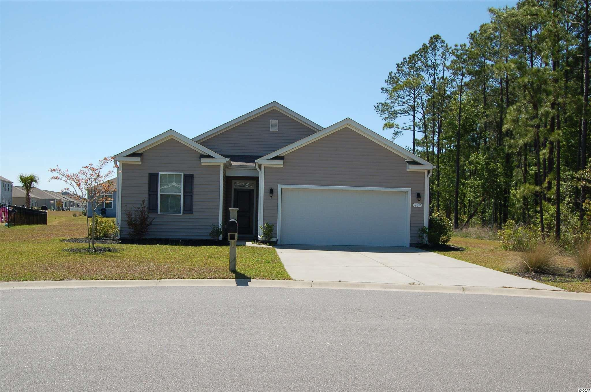 Would you like to own a 3 bdrm 2bath home in the sought after neighborhood of The Farm in Carolina Forest? This home is built on one of the largest lots in a Cul-da-sac with 0.4 Acres and features a split bedroom plan, 2 car garage, washer, dryer, fridge, stove and dishwasher included, granite countertops,  a screened in porch. There are two community pools and it is within walking distance to Ocean Bay Elementary and Middle Schools. Very close to grocery stores, restaurants, shopping and the BEACH.