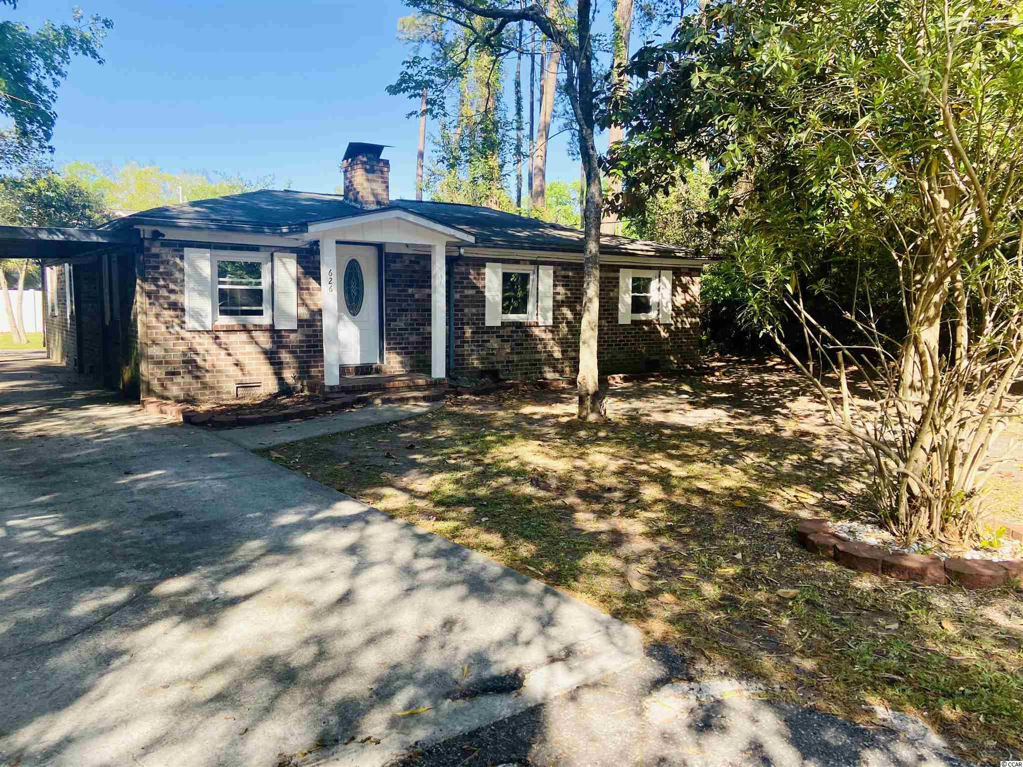 Priced to sell! Located east of 17 in Surfside Beach, this 3 bedroom and 2 bathroom is ready for new ownership! Walking distance to the ocean, No HOA,  and huge back yard makes this is a gem! Don't miss out on this one, some updating needed thus the price, sold as is.
