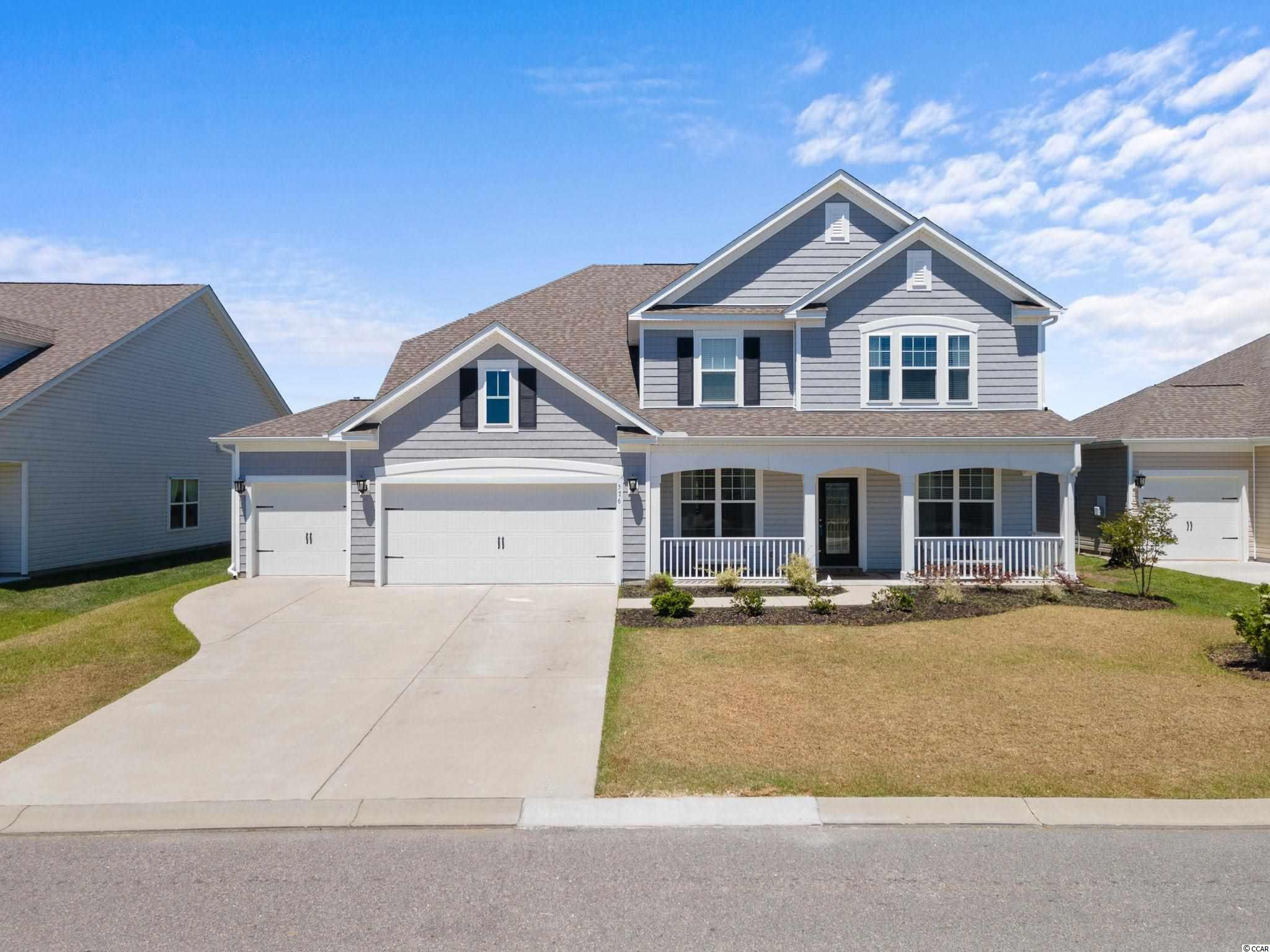 """Upgrades galore including Newly installed Solar Panels! This gorgeous """"Ivey"""" boasts an open concept design, 1st Floor master suite, screened porch, fireplace, 3-car garage and more. The Dining room features a coffered ceiling and gorgeous decorative trim. A study, powder room, large laundry room, valet area with boot box, and a Great room open to the kitchen and breakfast area, and a Butler's pantry. The 2nd level provides a loft, 3 bedrooms, large bath, and a storage room. Newly installed solar panels on the exterior. Belle Mer's amenities include a clubhouse, pool, exercise room , weekly trash collection, and sidewalks. Conveniently located between Myrtle Beach-Murrells Inlet; minutes to the Myrtle Beach International Airport, Coastal Grand Mall, Market Common, public beach accesses in Myrtle Beach/Surfside Beach, the Marsh Walk, South Strand and Sayebrook Town Center shopping and dining venues, numerous grocery stores, and several golf courses. 100% Energy Star Certified to ensure lower utility costs and a more comfortable home."""
