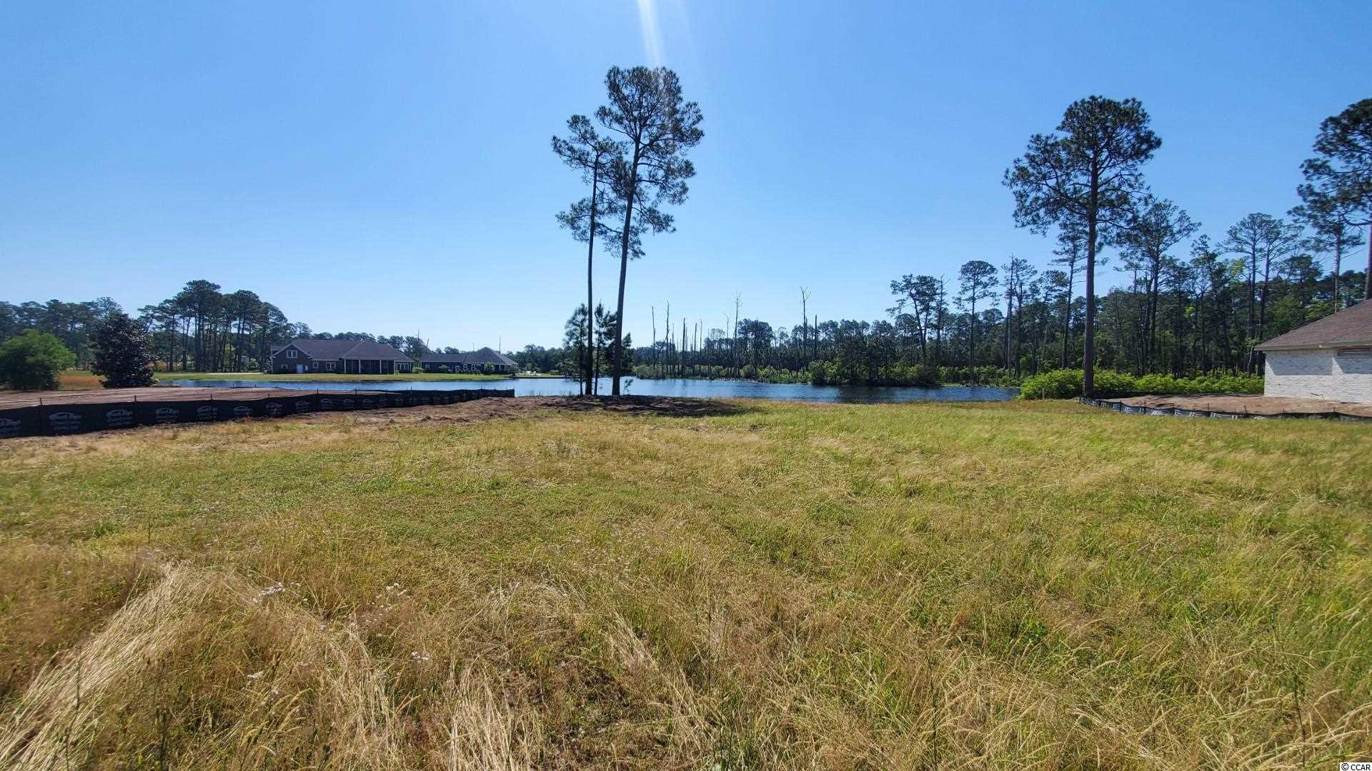 *Ready to build* Build your dream home on this beautiful lake front lot in Wild Wing Plantation! Golf course view and water front! Amenities include a pool, tennis courts and basketball courts. Wild Wing Plantation is surrounded by a championship golf course, close to 501, restaurants, a great college and just a short distance to the hospital. Measurements are approximate and not guaranteed. Buyer responsible for verification.