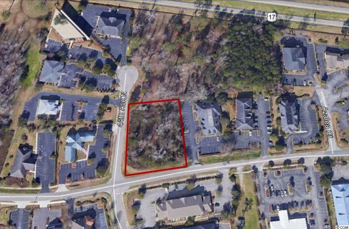 Prime Commercial lot in Myrtle Beach's most well appointed financial and medical parks, Oleander Drive Business Park. This large .87 Acre lot is located on the Corner of Oleander Dr. and 44th Ave N with over 400' of road frontage. Zoned Medical Professional by the City of Myrtle Beach to include office and medical uses.