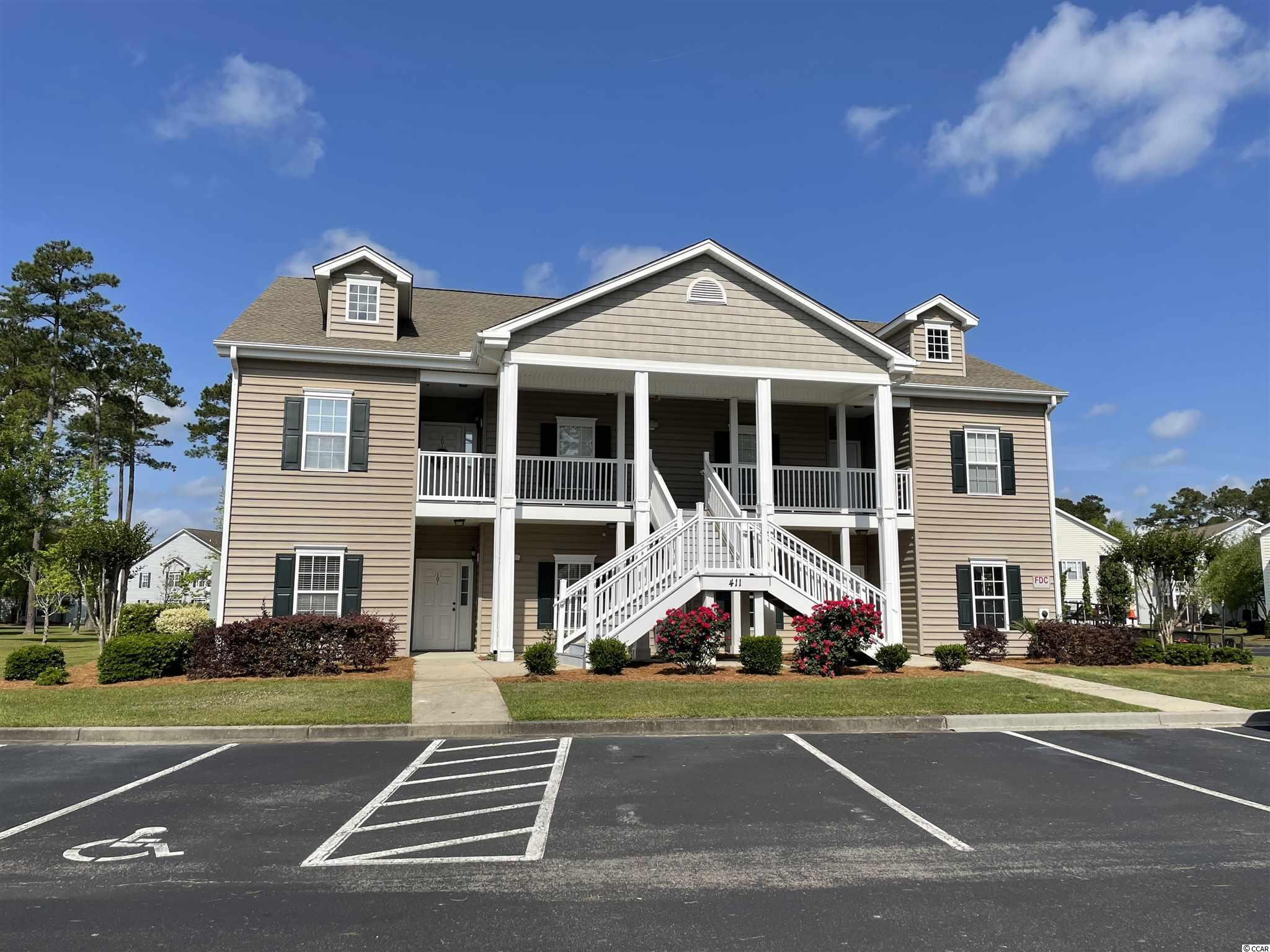 GORGEOUS 3BR/2BA Condo on the first floor! Still looks brand new! Features tile and carpet, bead board and crown molding. Open, spacious floorplan, split bedroom plan. Master Bedroom with ceiling fan and walk-in closet. Master Bath features double sinks and garden tub/shower combo. Amazing high quality kitchen cabinets, double sink, range, refrigerator, microwave, garbage disposal and dishwasher. Laundry room off kitchen. Screened porch with storage. HVAC 2019 Great location in Blackmoor Golf Course community close to shopping, restaurants, the Murrells Inlet Marshwalk and minutes to the beach. Homeowners amenities include outdoor pool and clubhouse. HOA fee includes Master Insurance Policy, water, sewer, trash, lawn maintenance, pool, clubhouse and basic cable.
