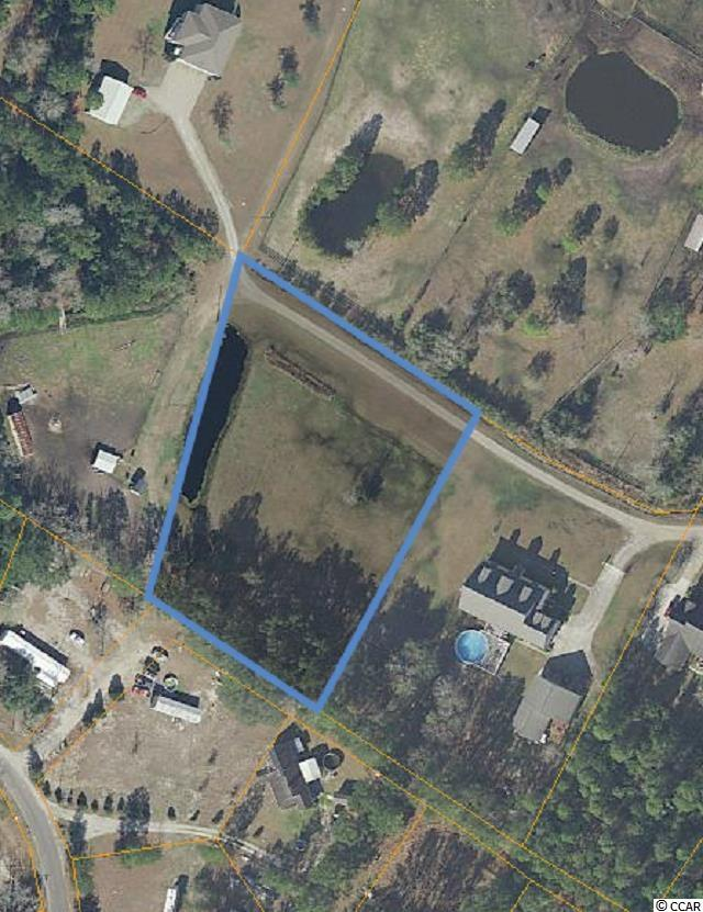 This 2 acre parcel is conveniently located near International Drive and allows the enjoyment of Conway and Myrtle Beach without having to use Hwy 501. There's NO HOA and the lot is mostly cleared, flat and ready for your dream home. The back property line has trees for privacy and a side property line has a small fish pond. Nearby are also public boat landings for the Waccamaw River. Located on a dead end and private road, enjoy the peace and quiet of the country while also having the convenience of a quick drive to all the Grand Strand and Conway have to offer. It's about 7 miles to Coastal Carolina University, Conway Medical Center, shopping and dining in the Carolina Forest area near Hwy 31, and downtown Conway. The location is prime and so is this amazing 2 acre parcel!