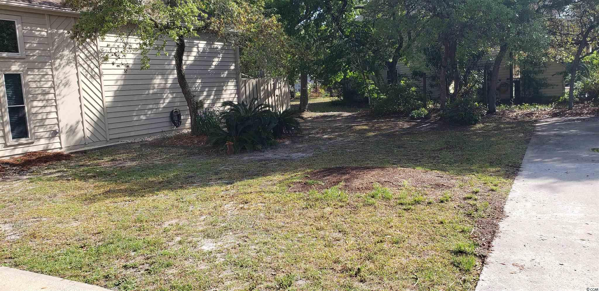 Patio home lot 3 blocks off the beach in Crescent Beach section of NMB. Prime location to build that beach getaway, vacation rental or primary residence.