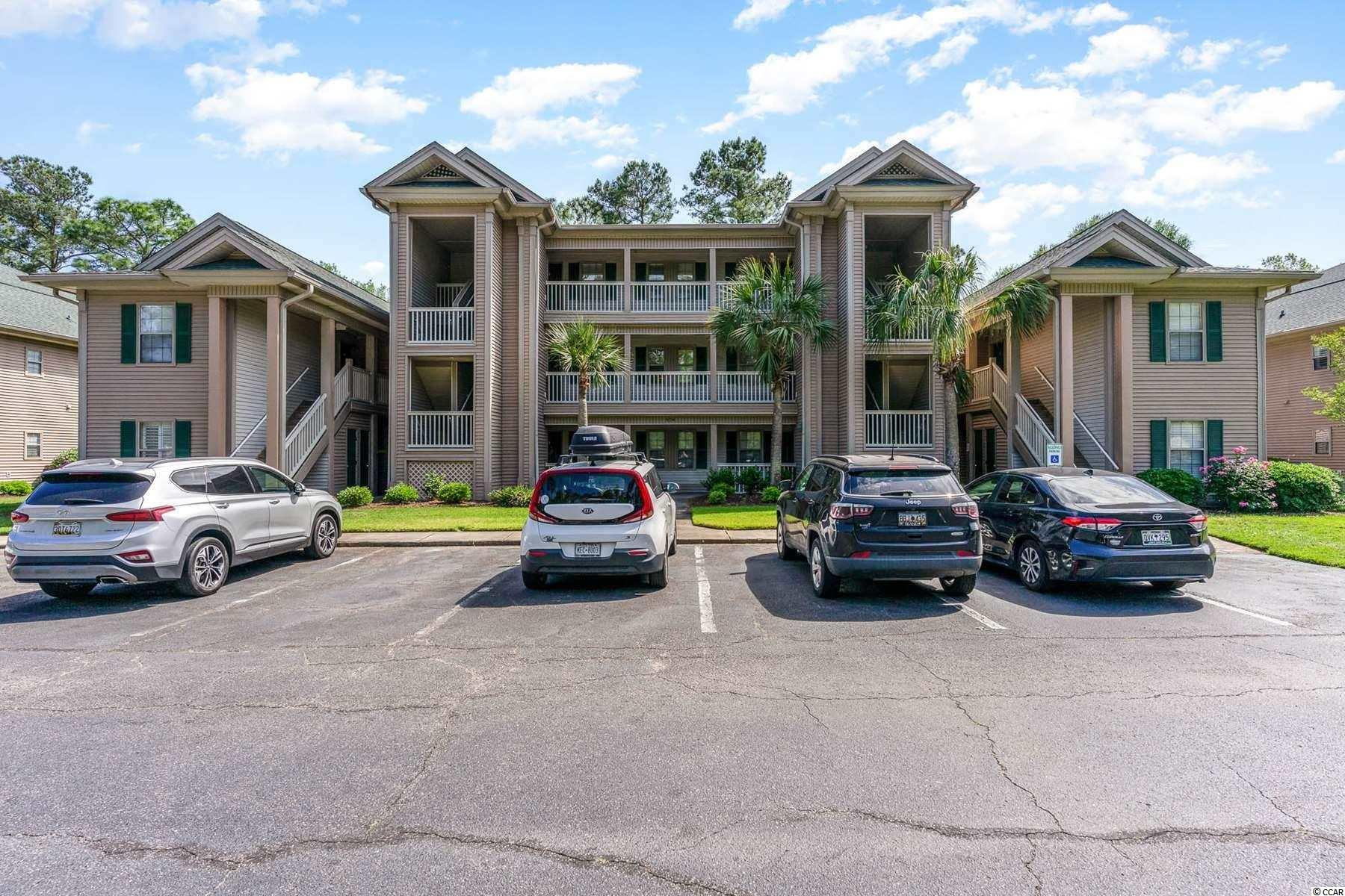 Must see! Second floor, 2 bedroom, 2 bathroom condo located in the golf course community of True Blue in Pawleys Island.  New HVAC  and dishwasher in 2019, new water heater  and new   large capacity washing machine 2020.   This condo offers wonderful views of the golf course and community lake! The open kitchen/main living area is ideal for everyday living and entertaining. The fully equipped kitchen offers plenty of counter space and cabinets for storage. The roomy master suite features a walk-in closet, a vanity sink, a shower/tub combination and private access to the screened porch. The other bedroom is nicely sized and has access to the second bathroom for more privacy. A full-size washer and dryer are located in the condo for more convenience. The screened porch is the ideal spot to enjoy a morning coffee or evening cocktail with relaxing views of the golf course and the lake. On top of this fantastic unit, True Blue has an outdoor pool, jacuzzi and is surrounding by golf courses. Pawleys Island is conveniently located just a few miles away from surfside Beach, MyrtleBeach, Georgetown and about 70 miles from Charleston. Near shopping, dining, golfing, entertaining, Brookgreen Gardens, the marsh walk and of course just a short drive to the Atlantic beach! This condo would be an excellent choice for a primary home, an investment property or a vacation getaway! Don't miss out on this opportunity and schedule your showing today!