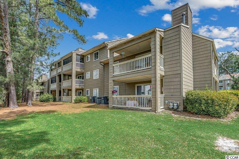 Welcome to this awesome 2 bedroom and 1 full bathroom condo located close to golf, shopping, and more!  This condo is an end unit that is located on the 2nd level which means there can be no one above you or to one side of you adding additional comfort and privacy. This condo is in pristine condition due to the fact that the current owners have only used this as their second home. Wake up in the morning relaxing on your balcony as you sip a cup of coffee and get ready for your day of fun in Myrtle Beach.  Myrtle Greens Community has very low HOA dues, and the amenities include a community pool, a tennis court, a and picnic area. Make sure to put this on your list to view with your Realtor.