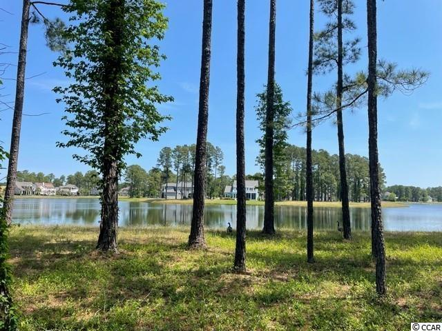 Beautiful lake front lot in the gated community of Waterbridge. This lot gives  spectacular views of the lake with an easy walk to the amenities center.  Bring your own builder and build when ready.  Amenities include an amazing pool area, fitness center, walk down fire pit, swim up refreshment bar, tennis courts, volleyball and basketball courts,  boat ramp and pier. Located in the heart of Carolina Forest.