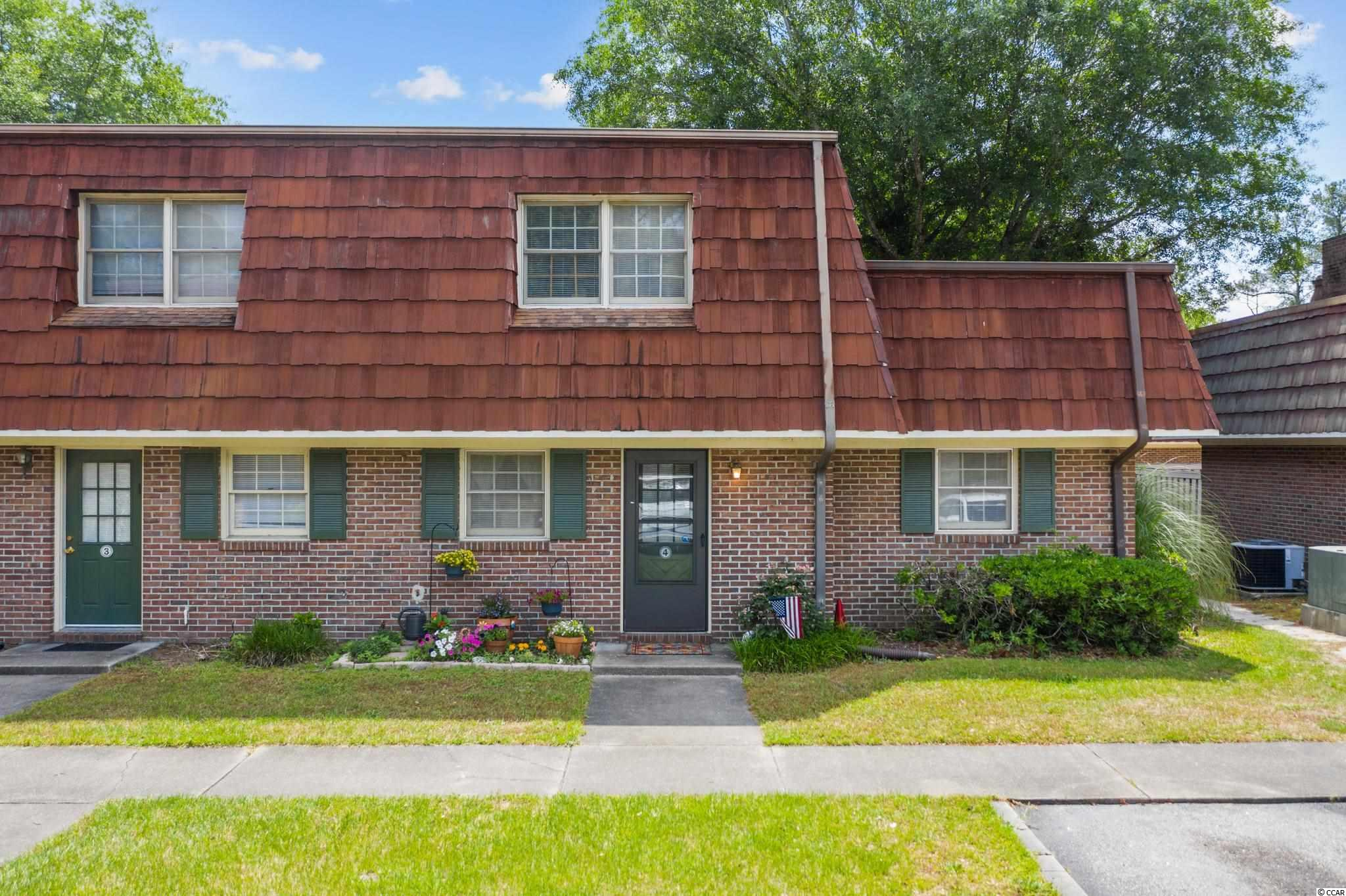 Heres an awesome opportunity to own a 3 bedroom end unit townhouse within minutes to the  Beach. This spacious townhome offers tons of storage space, large outdoor patio, and a first floor bedroom and bathroom. With Coastal Carolina College literally in the backyard, this is a great investment for students, or first time home buyers. Carolina Pine has 2 community pools and the HOA includes water, sewer, trash pickup and more. Dont miss out!