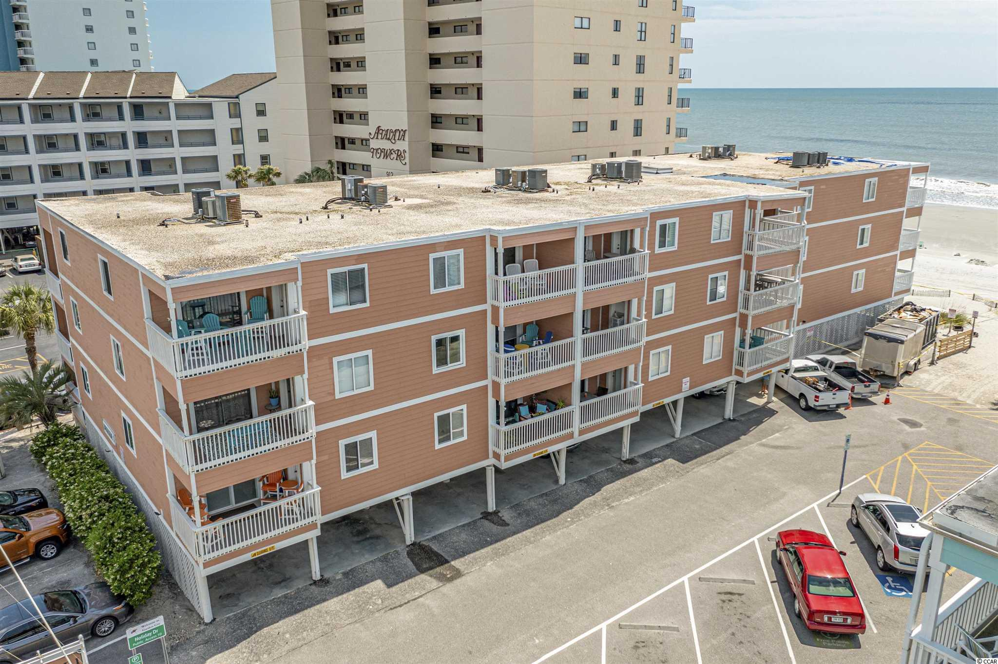 This beautiful 3 bedroom, 2 1/2 bath end unit condo located on the 1st floor in the highly desirable area of Garden City. This unit was completely updated when purchased in 2017 down to the duct work.  Located in an ocean front building, this condo is just steps from the ocean, close to shopping and restaurants. The condo is turnkey and would be a great primary or secondary home or a great rental property. This unit also features an 11X12 bonus room and a separate 3.5X3X8 secured storage room. This unit comes completely furnished.  Call today this one won't last long.