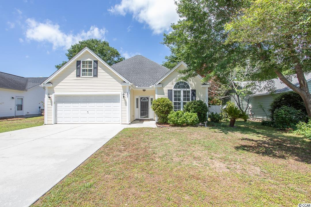 Remarkable turn key four bedroom, two bathroom home in the heart of Murrells Inlet!  Charm abounds in this adorable cottage style home located in a non-HOA neighborhood, just minutes to the Marshwalk.  This home features wood floors, soaring ceilings, and a fireplace trimmed in shiplap.  The kitchen has updated cabinets, granite countertops, custom tile backsplash, and a eat in area overlooking the newly sodded back yard.  Relax in the cozy master bedroom, complete with en-suite bathroom & a walk in closet.  The master  bathroom has been renovated from top to bottom with a new vanity, custom tile shower, and a soaking tub.  Located just off the living room is a bonus flex room overlooking the back yard, that is perfect for use for  dining, a sitting room or Carolina room. Two additional spacious bedrooms and a full bathroom complete the main floor.  There is also a bonus room upstairs that can be used as a 4th bedroom.  The fully fenced backyard has been recently resodded, and includes new irrigation, plus an additional storage shed. Don't miss out on this AMAZING opportunity!  Call today to schedule a showing.  All measurements are approximate and should be verified.