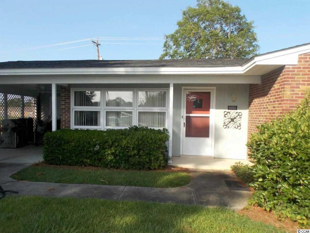 Great investment, tenant is in place until March 1st, 2022.  LOCATION.? Yes...we've got it!! Golf Cart, bike ride or walk to the beach and Market Commons District which is full of restaurants, shops, social activities and a movie theatre.  Home is half of a duplex, situated in Seagate Village which was the former Air Force Base housing.  3 bd /1.5 bath home has wood flooring , tiled bathrooms, a carport and storage area. Refrigerator, microwave, ceiling fans and light fixtures replaced in 2019, HVAC replaced December 2020. Seagate is a lovely community with beautiful trees and sidewalks throughout.  HOA includes structural insurance, landscaping, trash pick up and general maintenance, all equals carefree living! Owner/listing agent is a licensed SC Real estate agent .Book your appointment to view today!