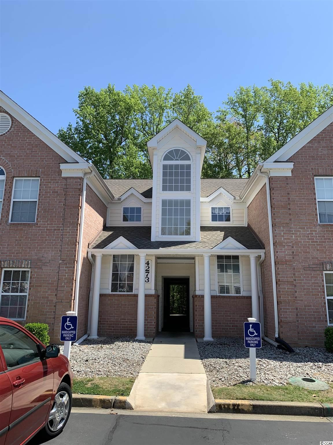 BEAUTIFULLY RENOVATED KITCHEN, 1st FLOOR, ALL APPLIANCES REPLACED 2019 & LAMINATE FLOORS (2018). Three Bedroom/Two Full Baths plus Carolina Room. Kitchen was FULLY renovated including new cabinetry in 2019. Enjoy QUARTZ countertops with waterfall edge, matching Whirlpool stainless steel appliances including dishwasher (all new 2019), Braun Range Hood, garbage disposal, all new lighting & ceiling fans (2019). Tons of light, neutral paint and laminate flooring throughout. Brand new closet doors. Office freshly painted. The HOA recently replaced the roof and all lintels, sills and associated building trim. Water Heater (2013) Bryant HVAC (2012). New Amana washer & dryer (2019) plus large Carolina Room, as well as common area seating at back of building with greenspace behind. Close to everything...Marshwalk, Brookgreen Gardens, Huntington Beach State Park, great dining, shopping and medical close by. Come home to the Beach at Riverwood! All measurements are approximate and must be verified by buyer prior to closing.