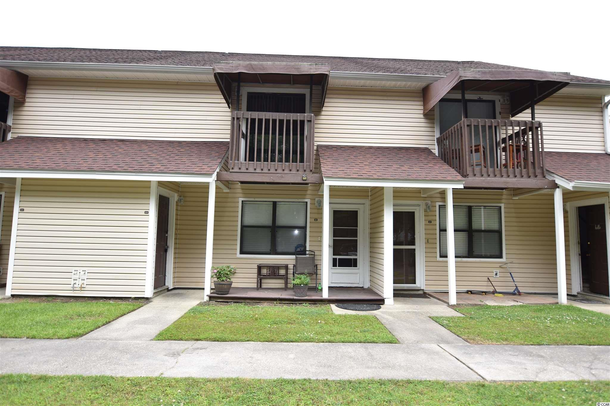 Exceptional Value in Myrtle Beach ! This spacious one bedroom is being offered FULLY FURNISHED and boasts an extremely low monthly HOA fee. The monthly hoa fee includes your insurance, a pool, landscaping, trash pick up, and monthly pest control. EXTREMELY WELL MAINTAINED -  The owners represent that this unit has never been rented or smoked in during their time of ownership.