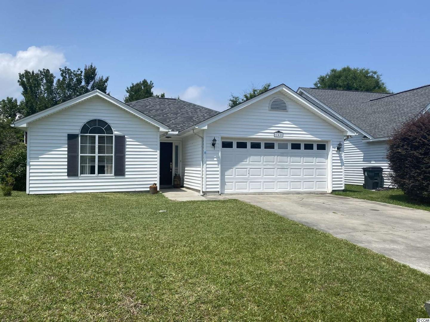 Great 3BR-2BA home in Glenn Meadows, Surfside Beach. Less than 2 miles to the ocean! This home has an open floor plan, large galley kitchen with a breakfast nook. Inside Pictures will be coming soon.