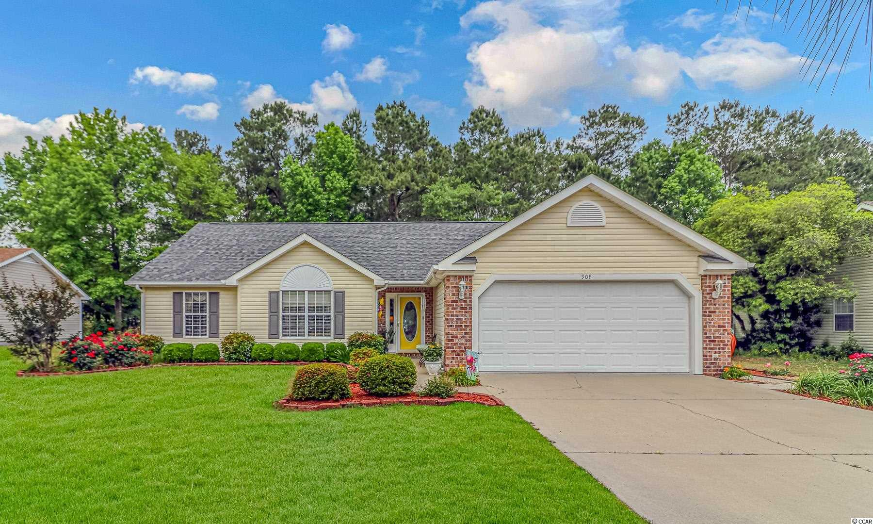 Open House May 16th 1-4pm Beautiful 3/2 on .49 of an acre. Temperature controlled Carolina room with a fenced yard. Property line extends past the rear fence. Close to All with easy access to 544 or 501.
