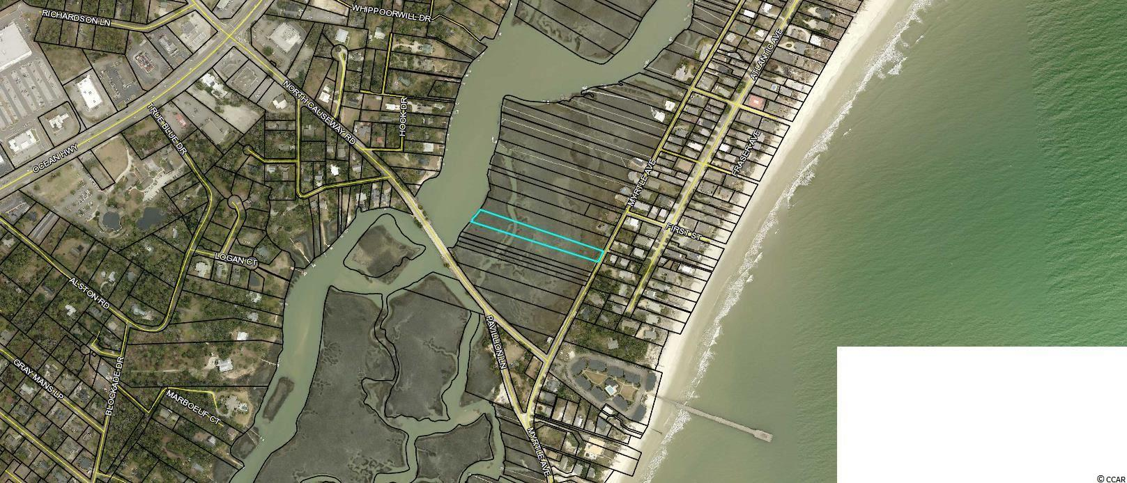 Marsh lot on Pawleys Island that meets DHEC requirements for dock permit. Length to main creek is approx 796 feet well within the 999 maximum allowed for dock. Not buildable for residential.